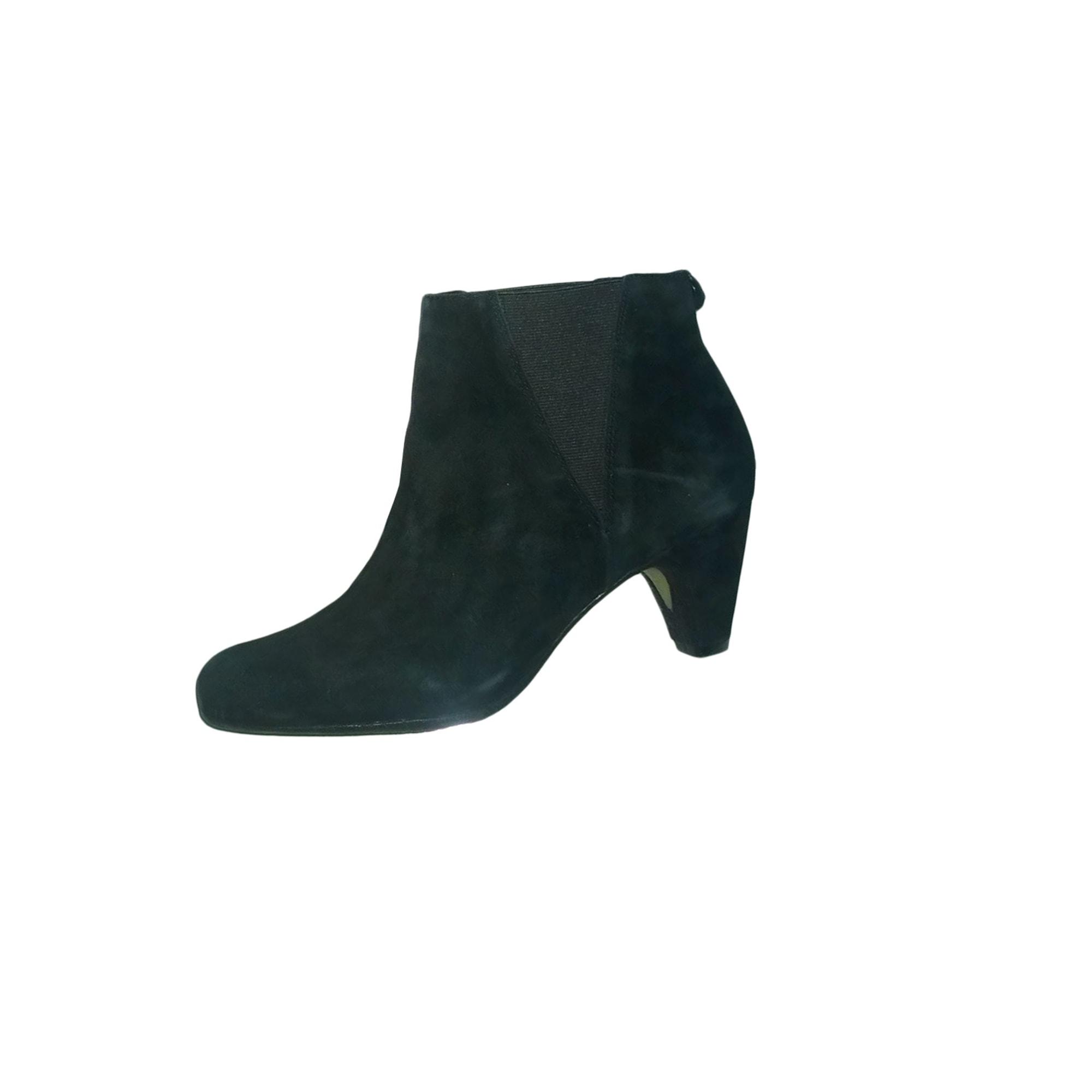 Bottines & low boots à talons SAM EDELMAN Noir