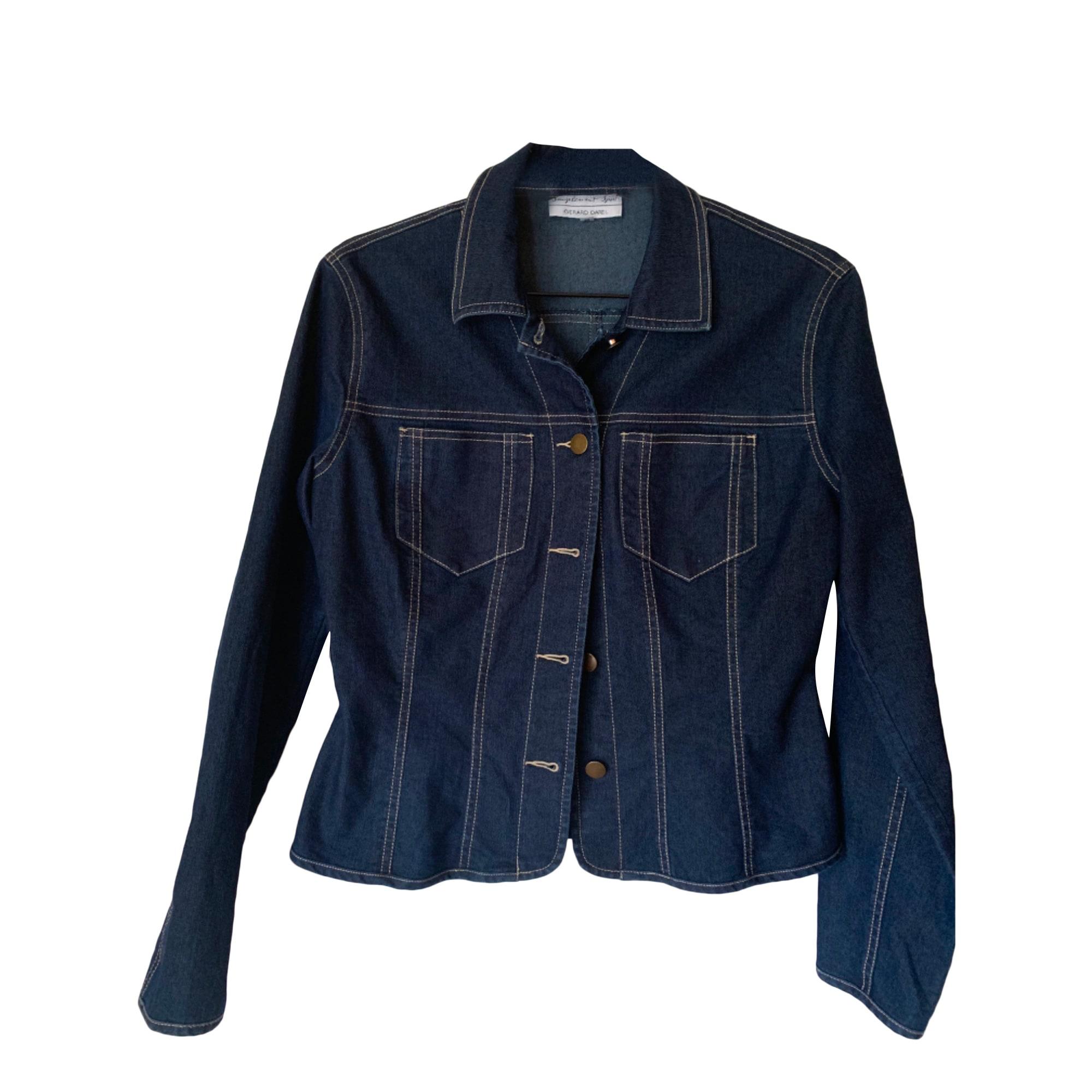 Veste en jean GERARD DAREL Bleu, bleu marine, bleu turquoise