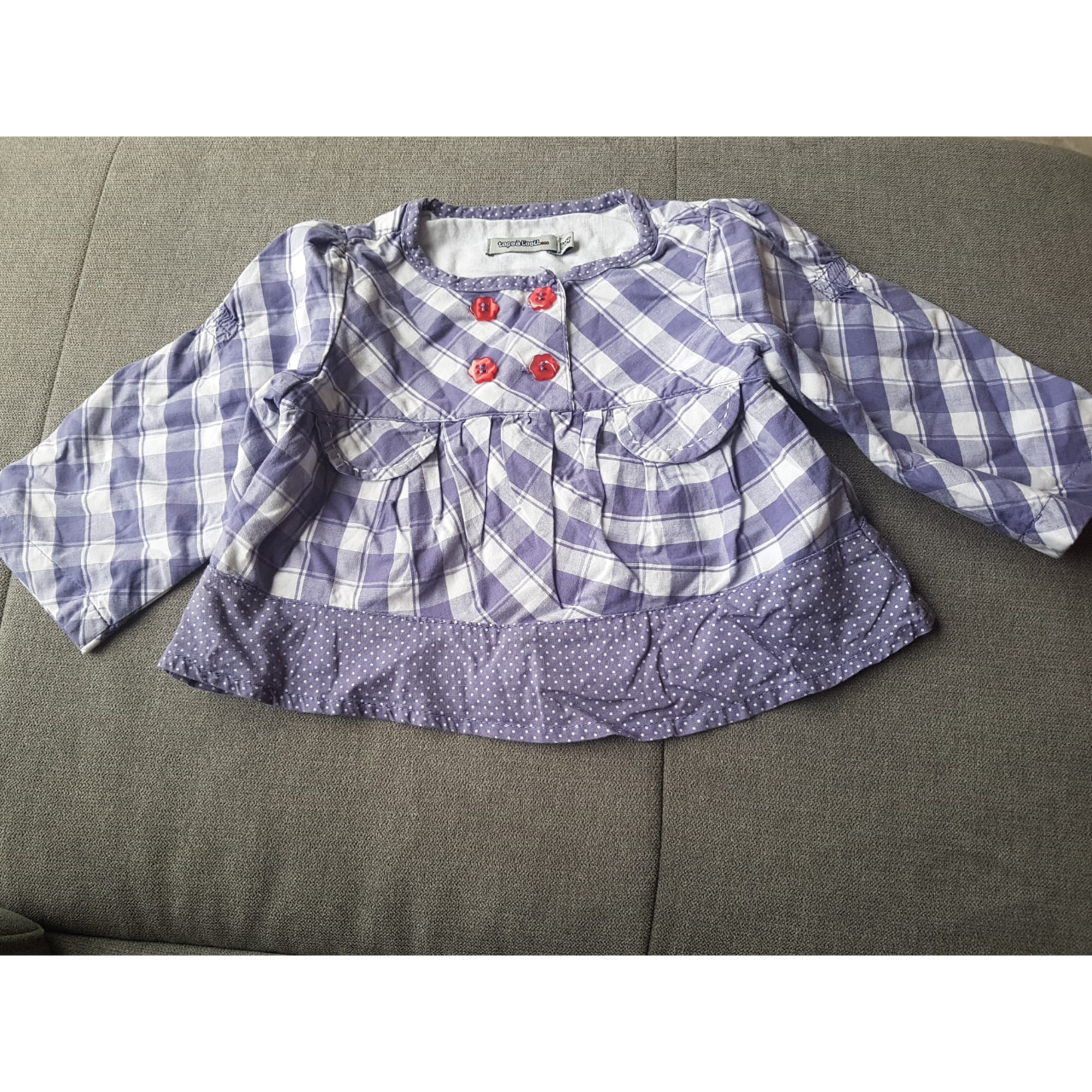 Top, T-shirt TAPE À L'OEIL Purple, mauve, lavender