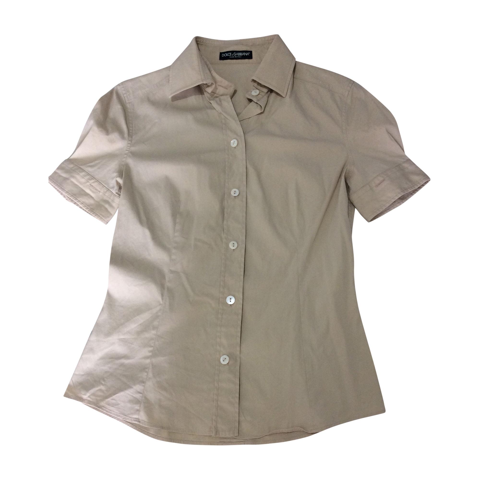 Shirt DOLCE & GABBANA Beige, camel