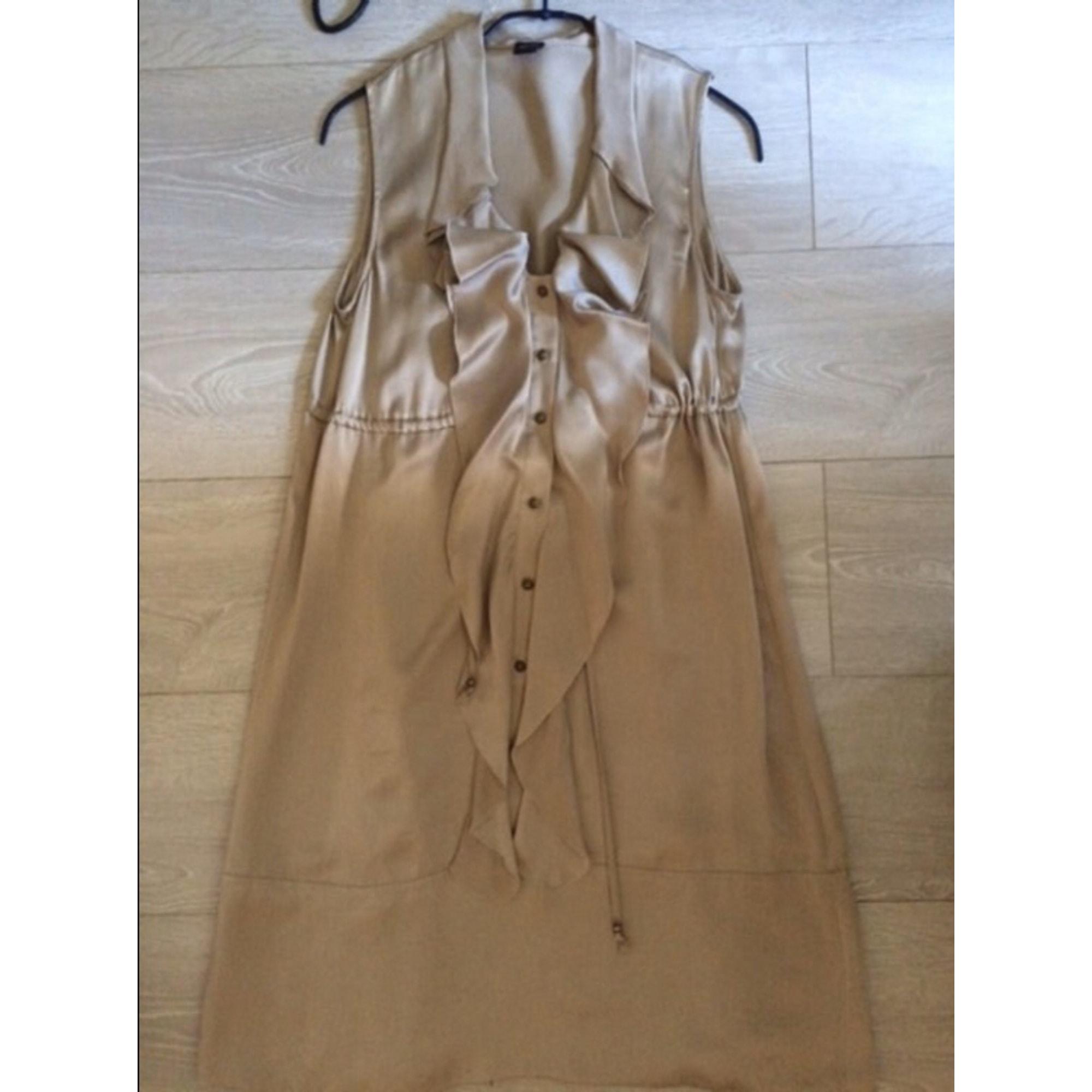 Robe courte ESPRIT Beige, camel