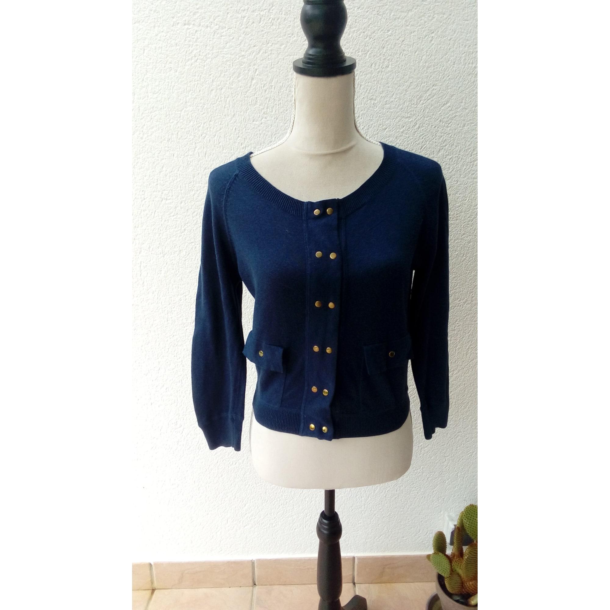 Gilet, cardigan ASOS Bleu, bleu marine, bleu turquoise