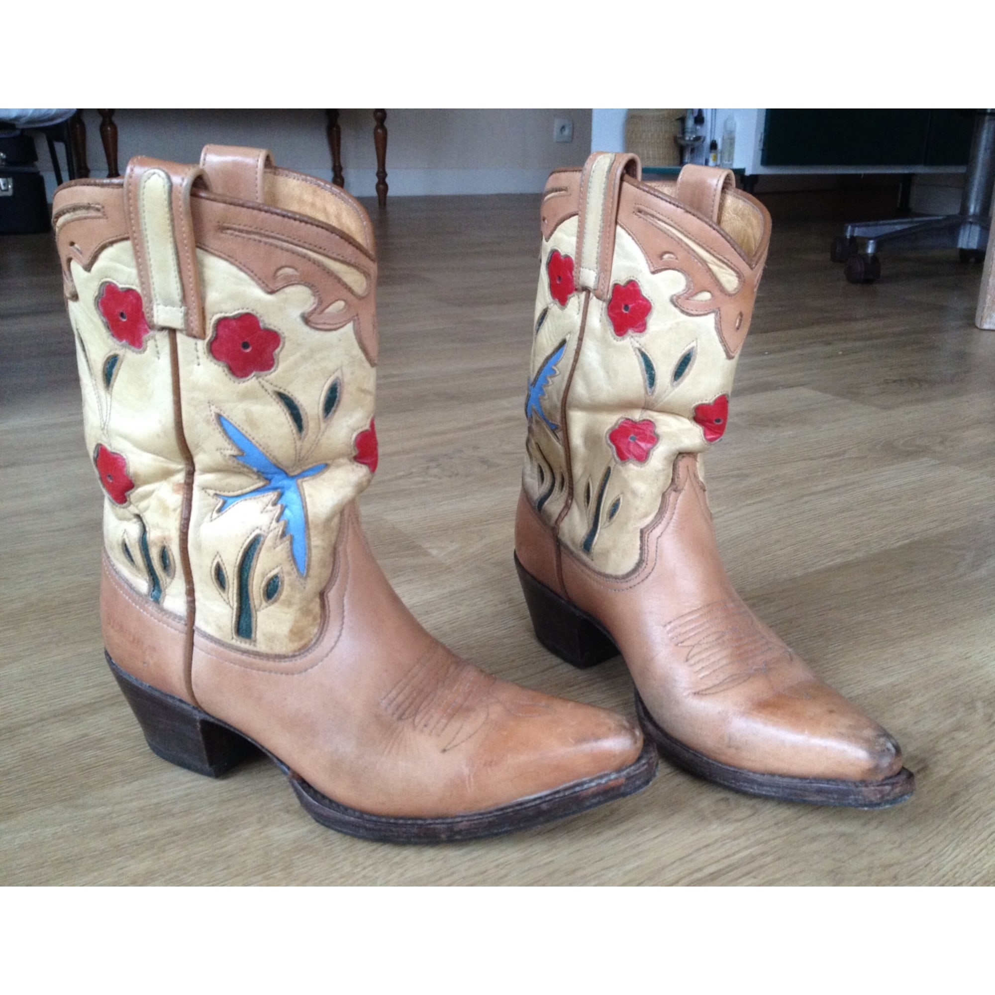 Santiags, bottines, low boots cowboy SENDRA Multicouleur