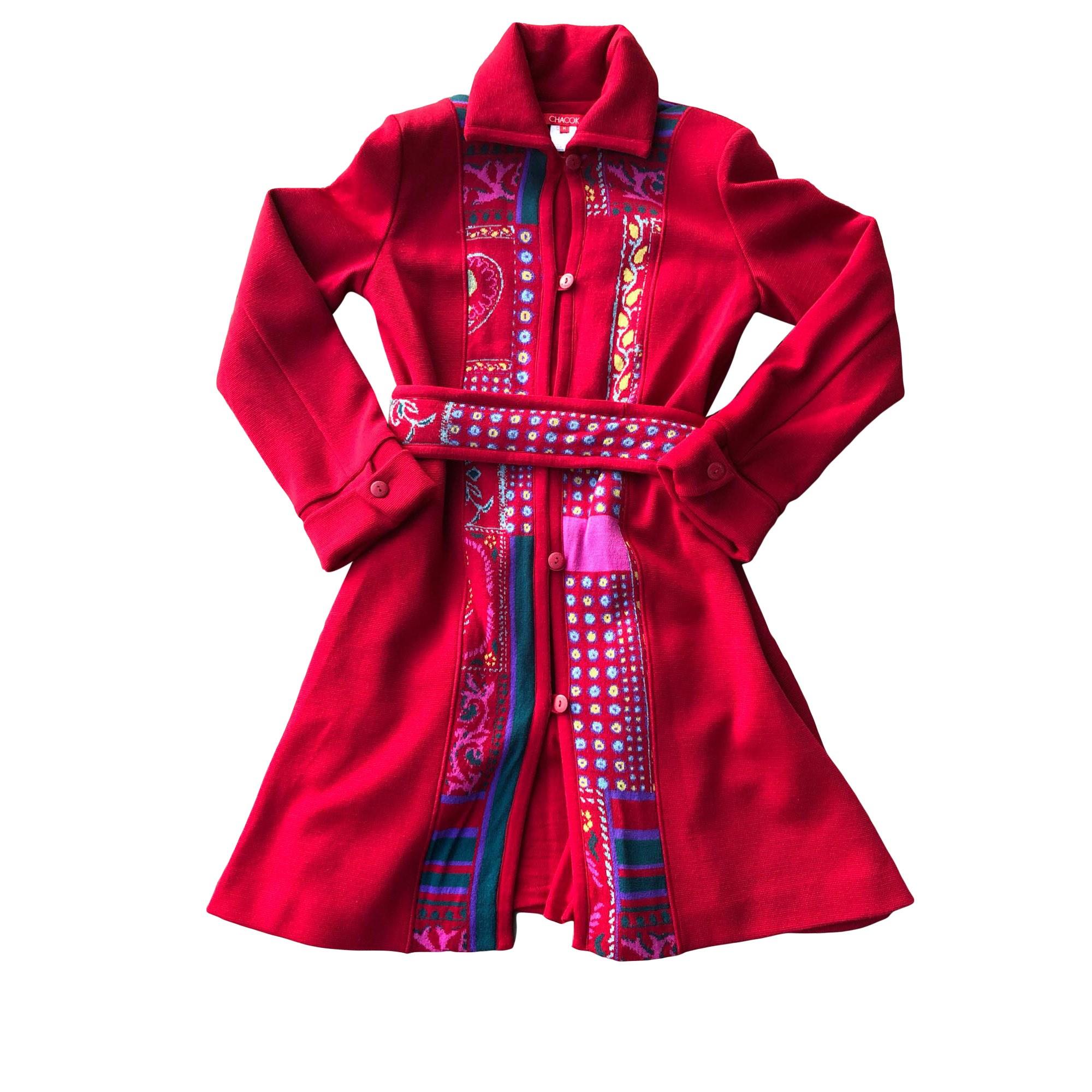 Manteau CHACOK Rouge, bordeaux