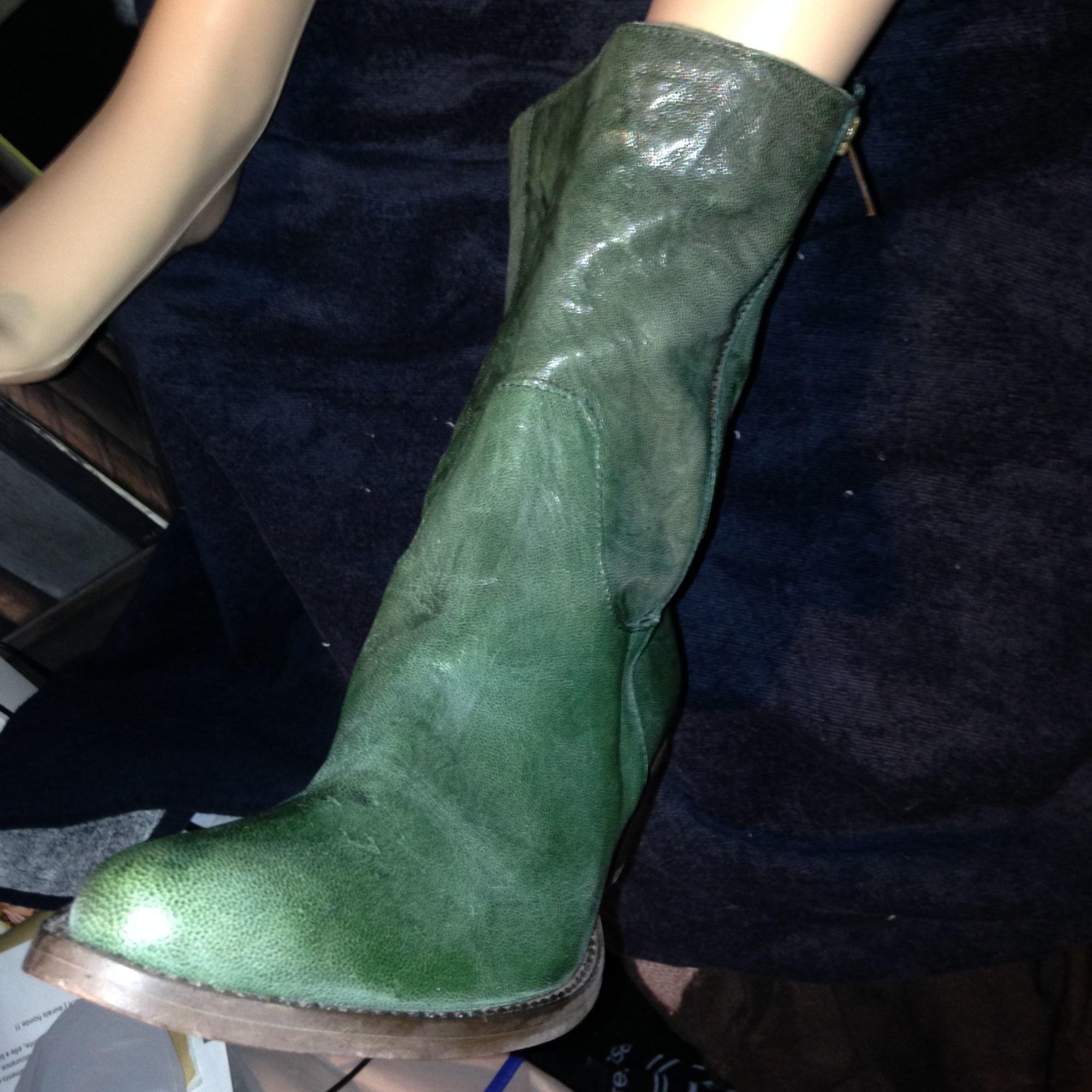 Santiags, bottes cowboy MINELLI Vert