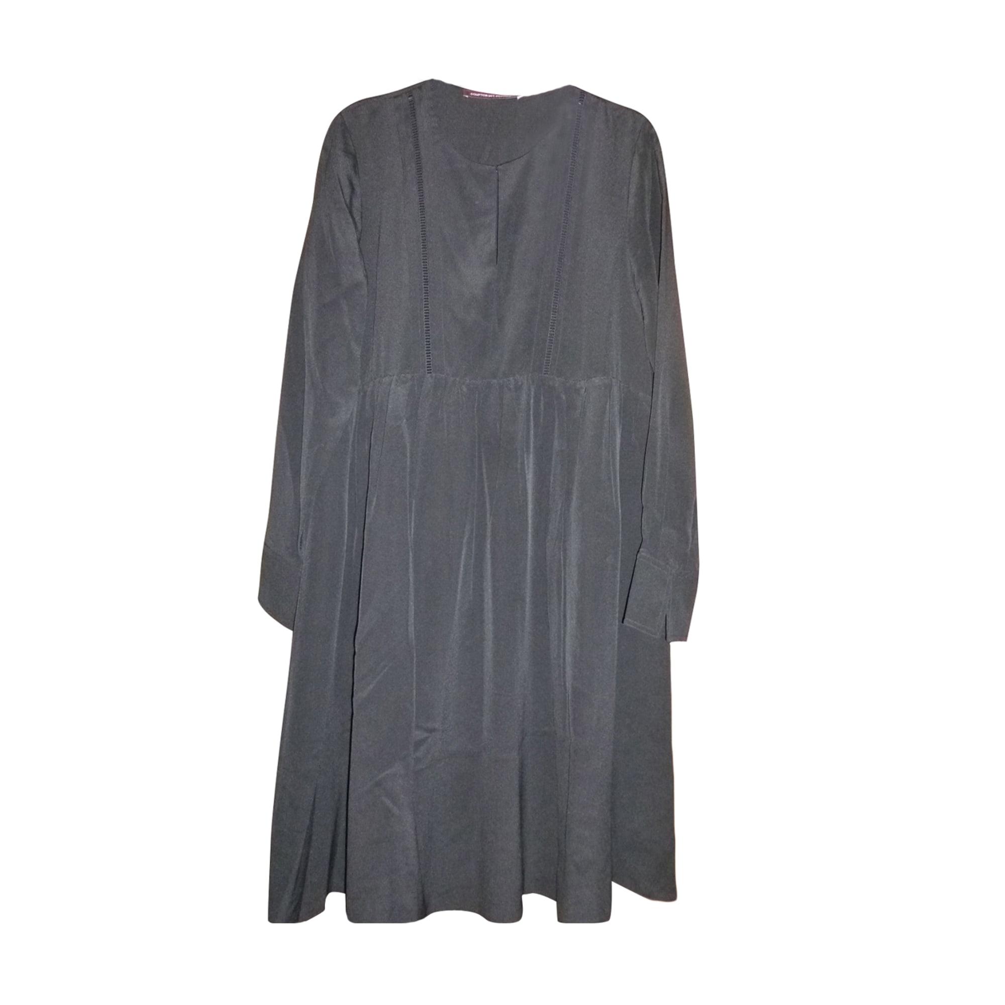 Robe mi-longue COMPTOIR DES COTONNIERS Noir