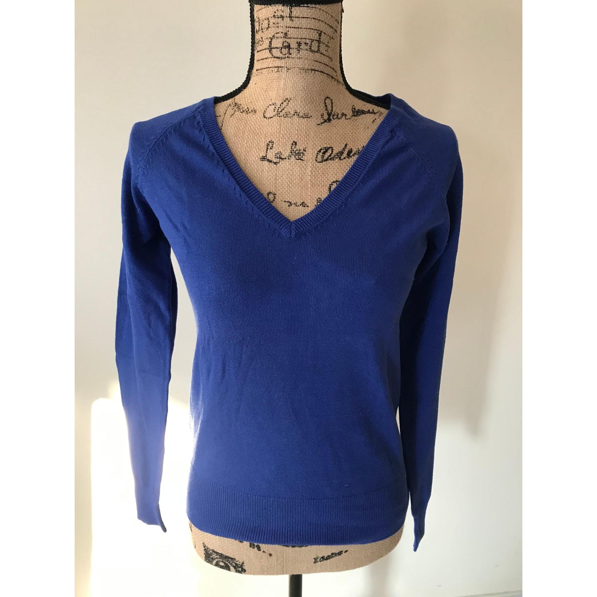 Pull YESSICA Bleu, bleu marine, bleu turquoise