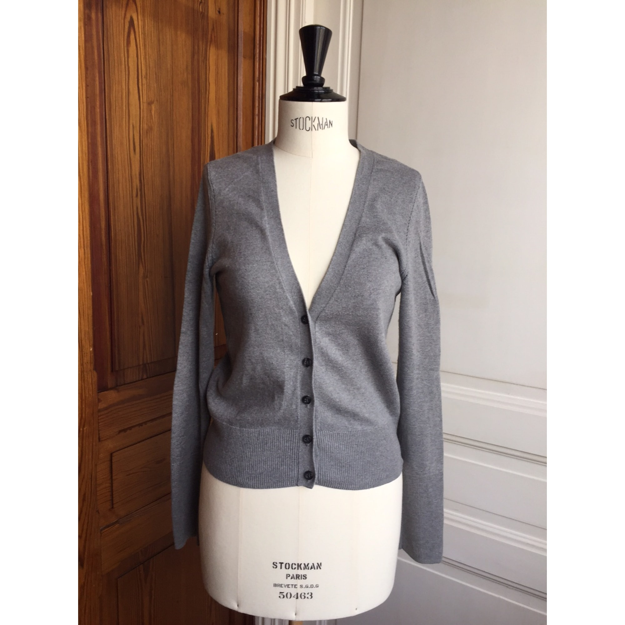 Gilet, cardigan AMERICAN EAGLE OUTFITTERS Gris, anthracite