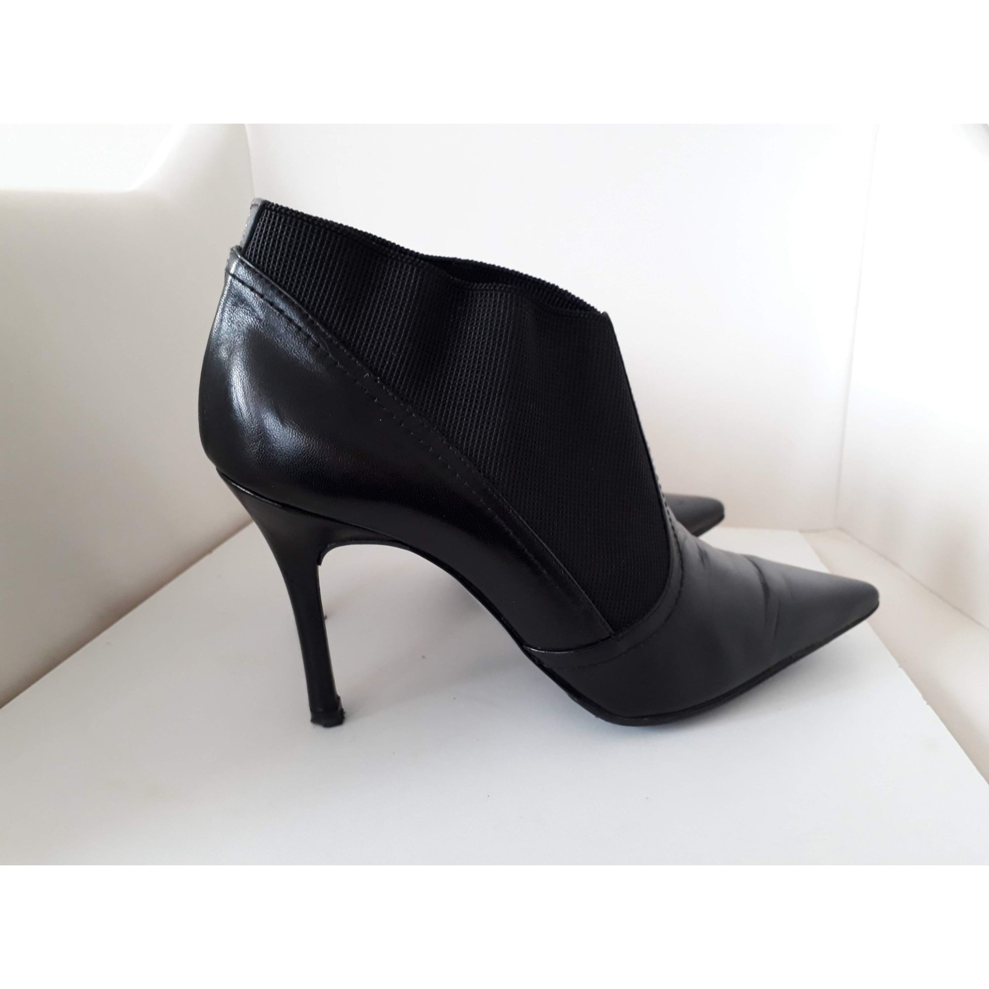 Bottines & low boots à talons BRENDA ZARO Noir