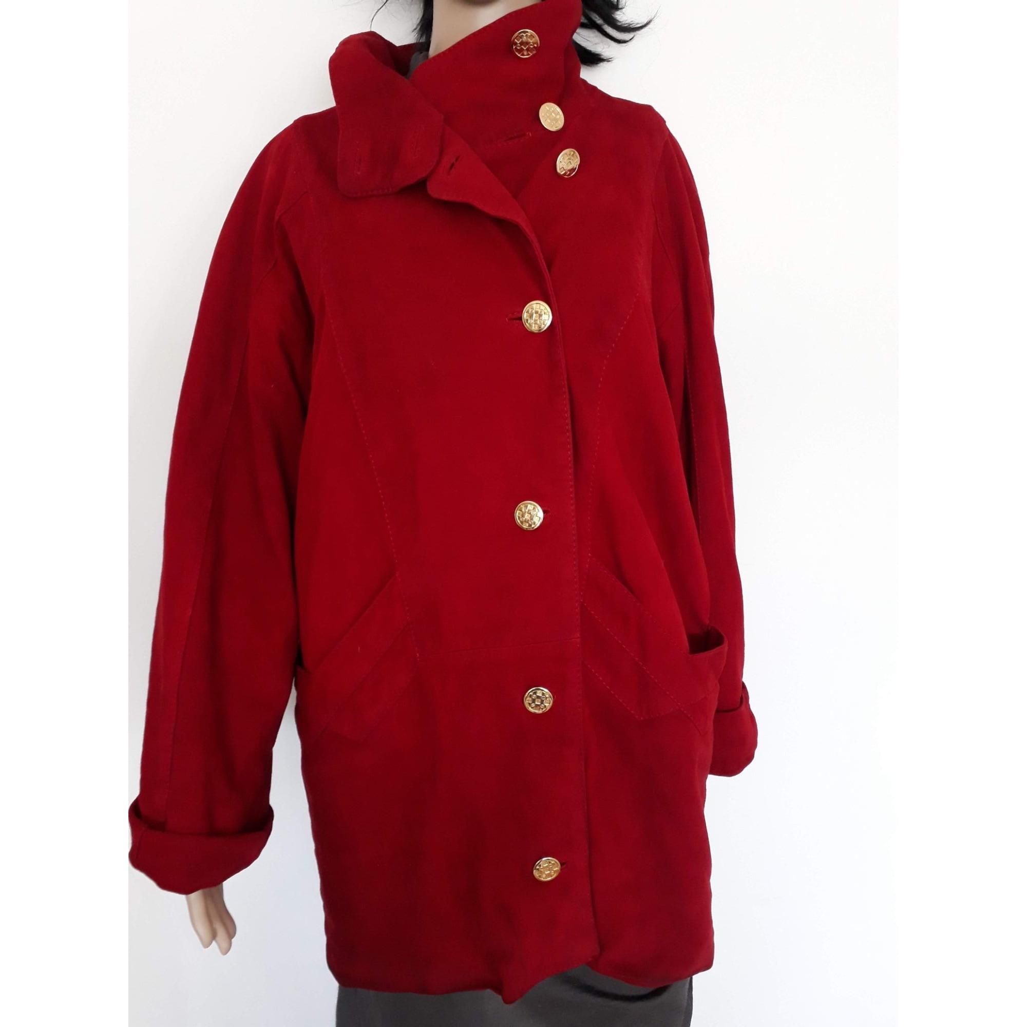 Manteau CASA LOPEZ Rouge, bordeaux