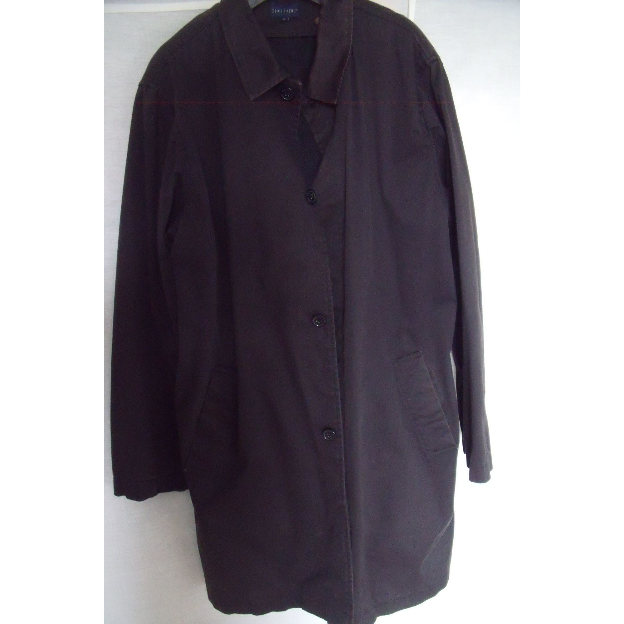 Imperméable, trench SOMEWHERE Noir