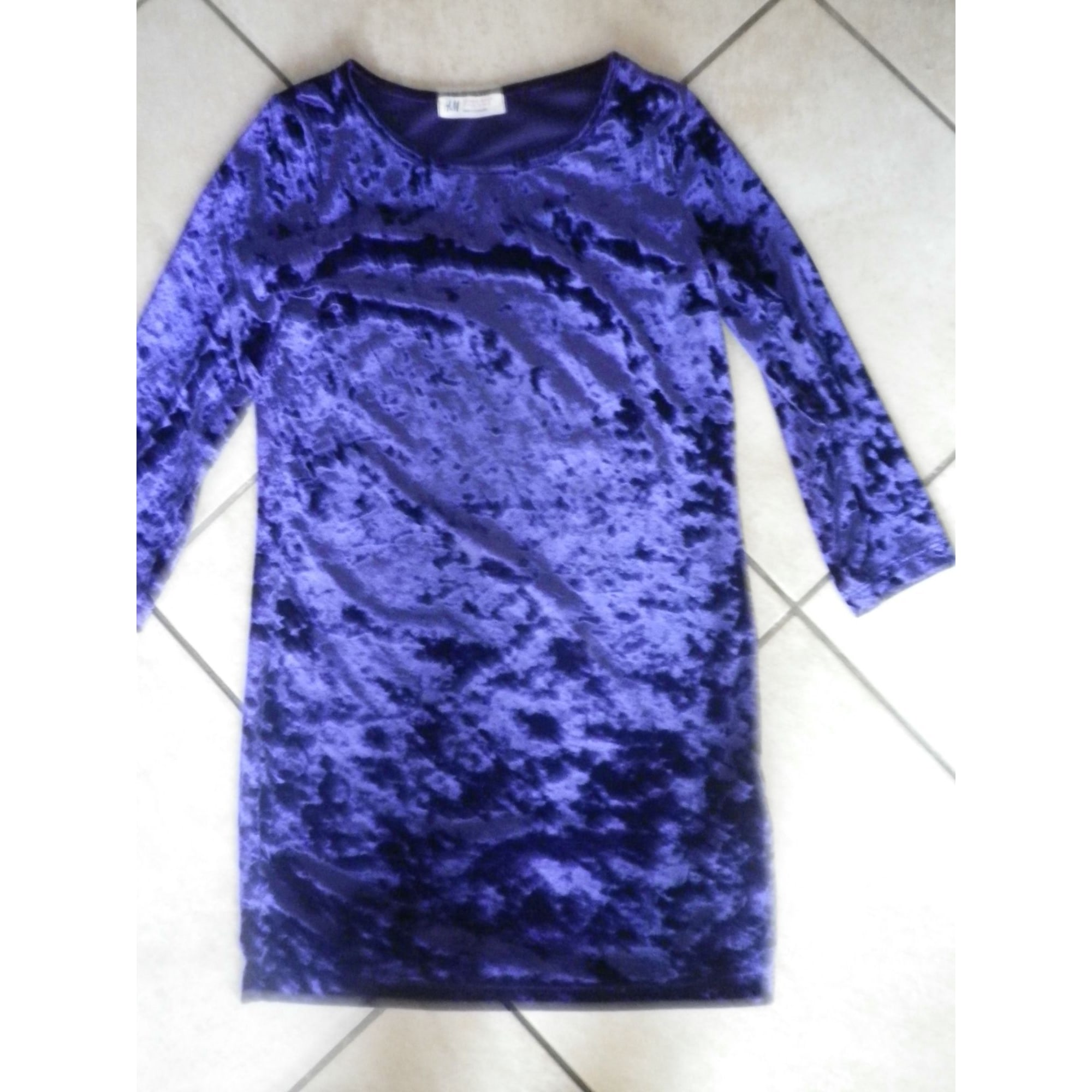 Robe H&M bleu - violet