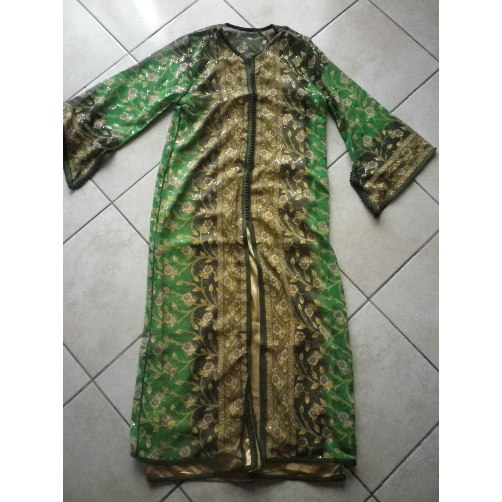 Robe MARQUE INCONNUE Vert