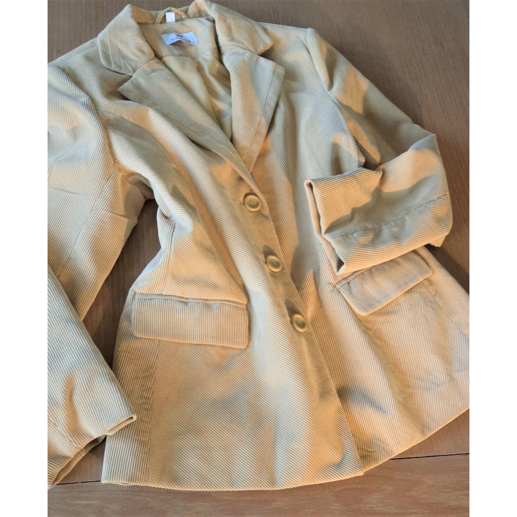 Blazer, veste tailleur KINGFIELD Beige, camel