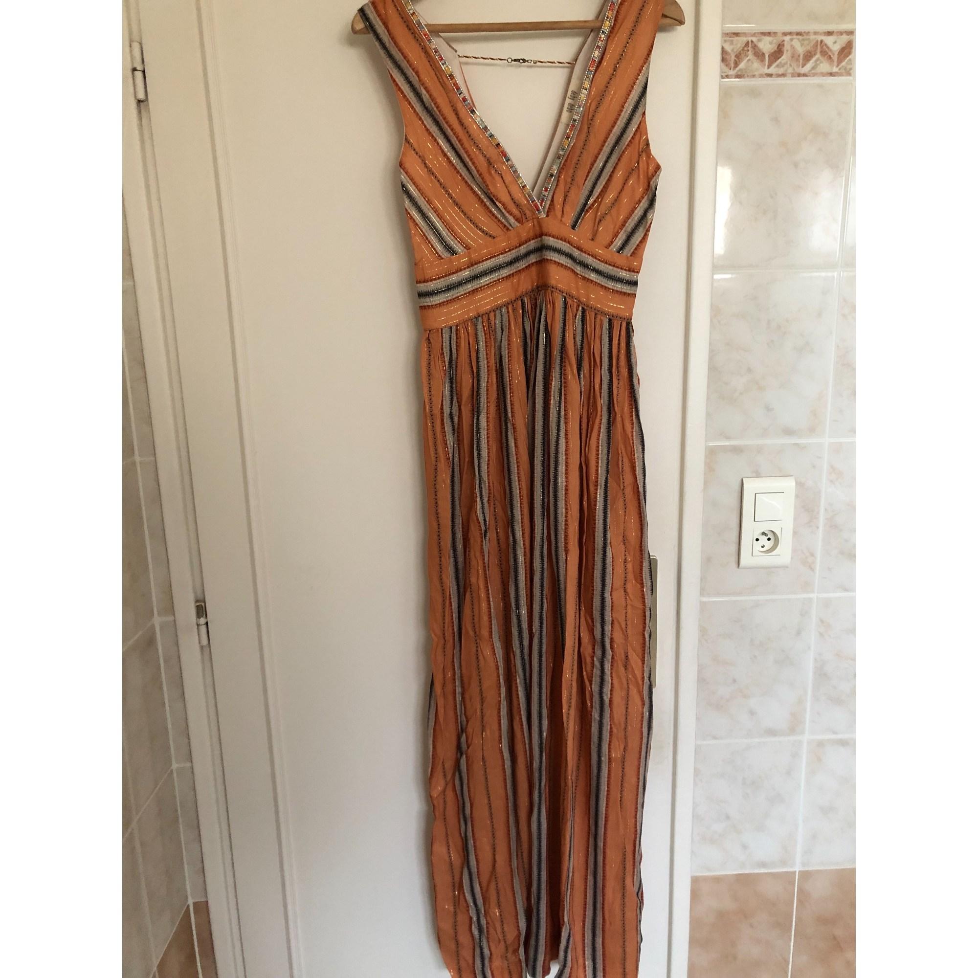 Robe longue DEBY DEBO Orange