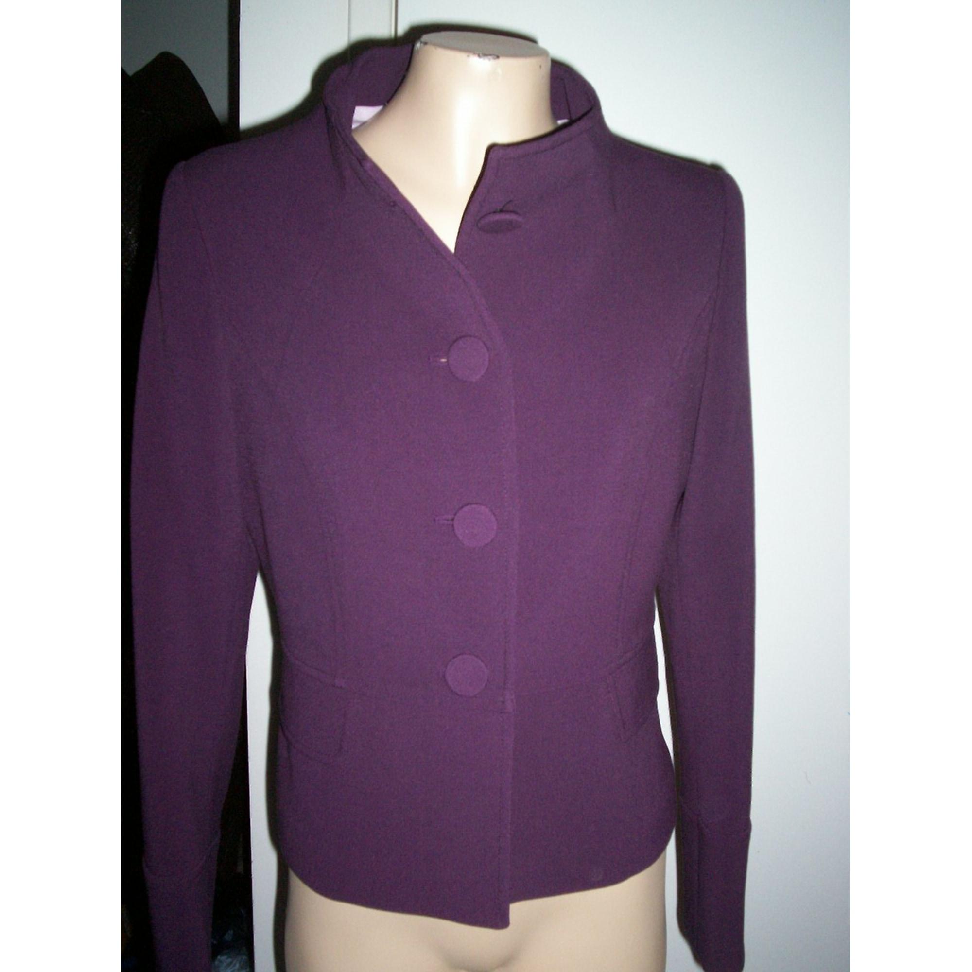 Blazer, veste tailleur CAROLL Violet, mauve, lavande
