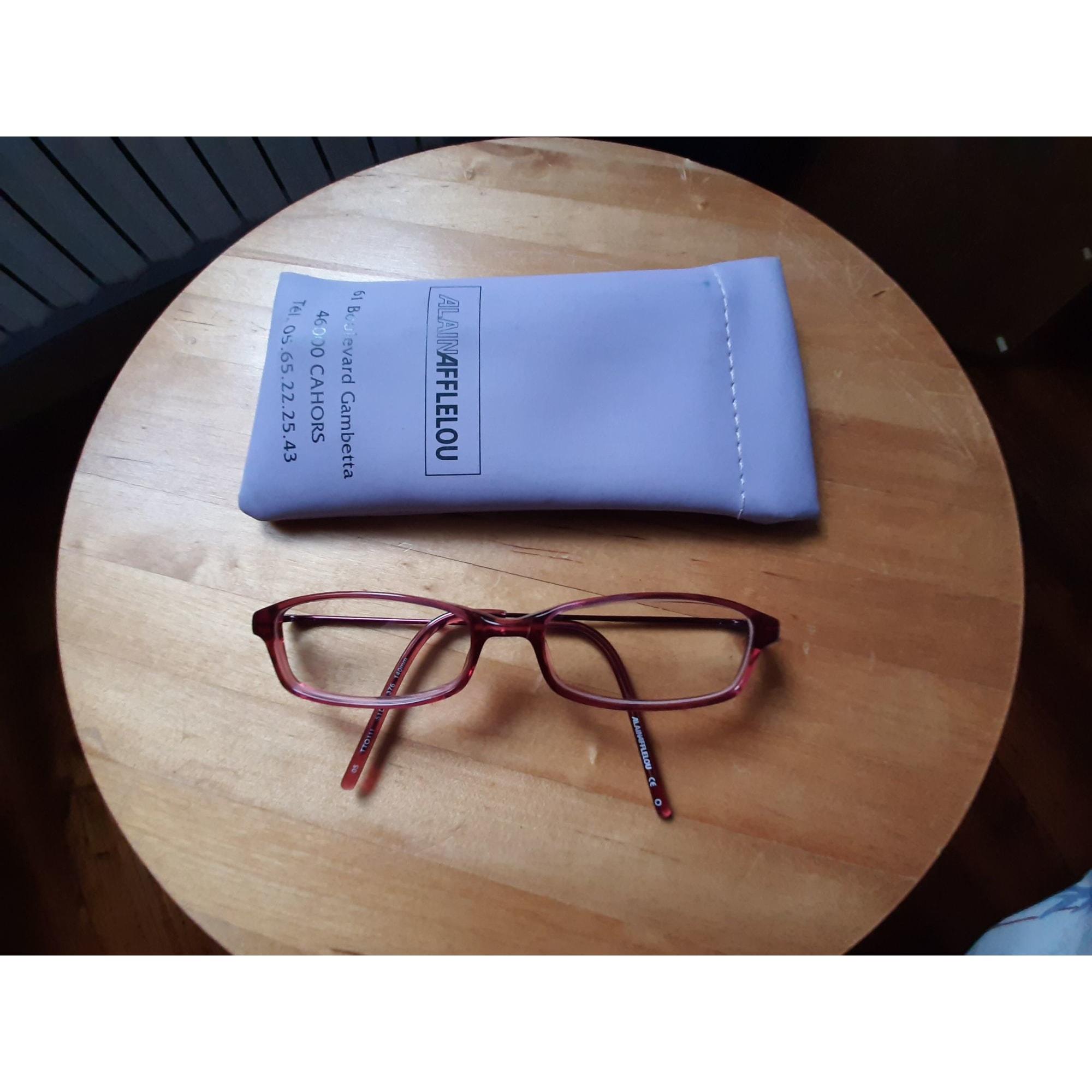 Monture de lunettes ALAIN AFFLELOU Rose, fuschia, vieux rose