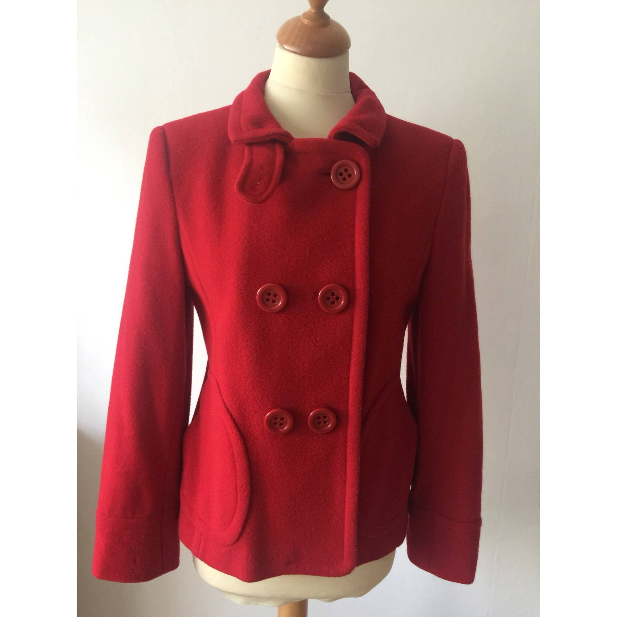 Veste ZARA Rouge, bordeaux