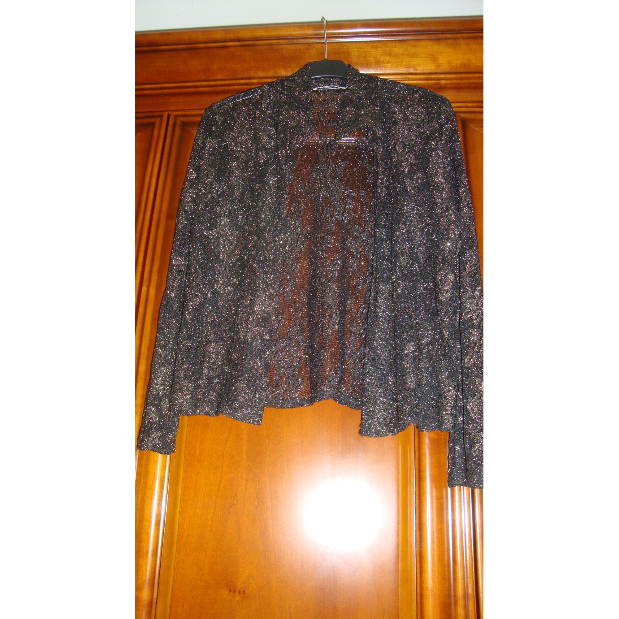 Blazer, veste tailleur CHRISTINE LAURE Doré, bronze, cuivre