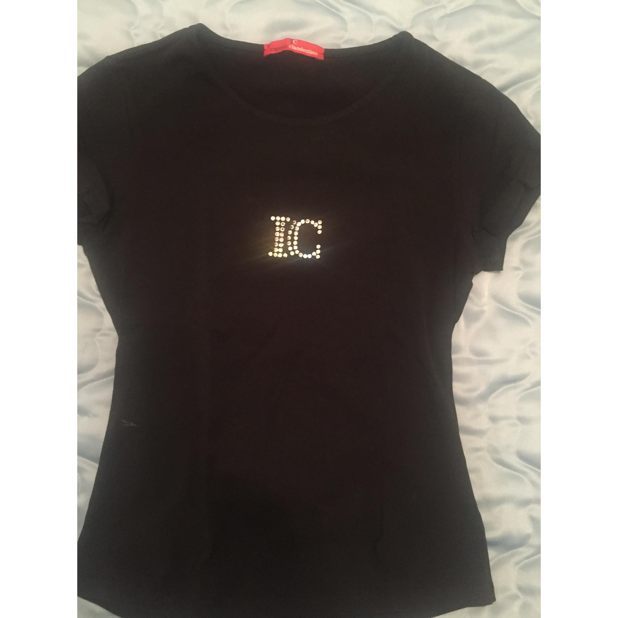 Top, tee-shirt IMPERIO CLANDESTINO Noir