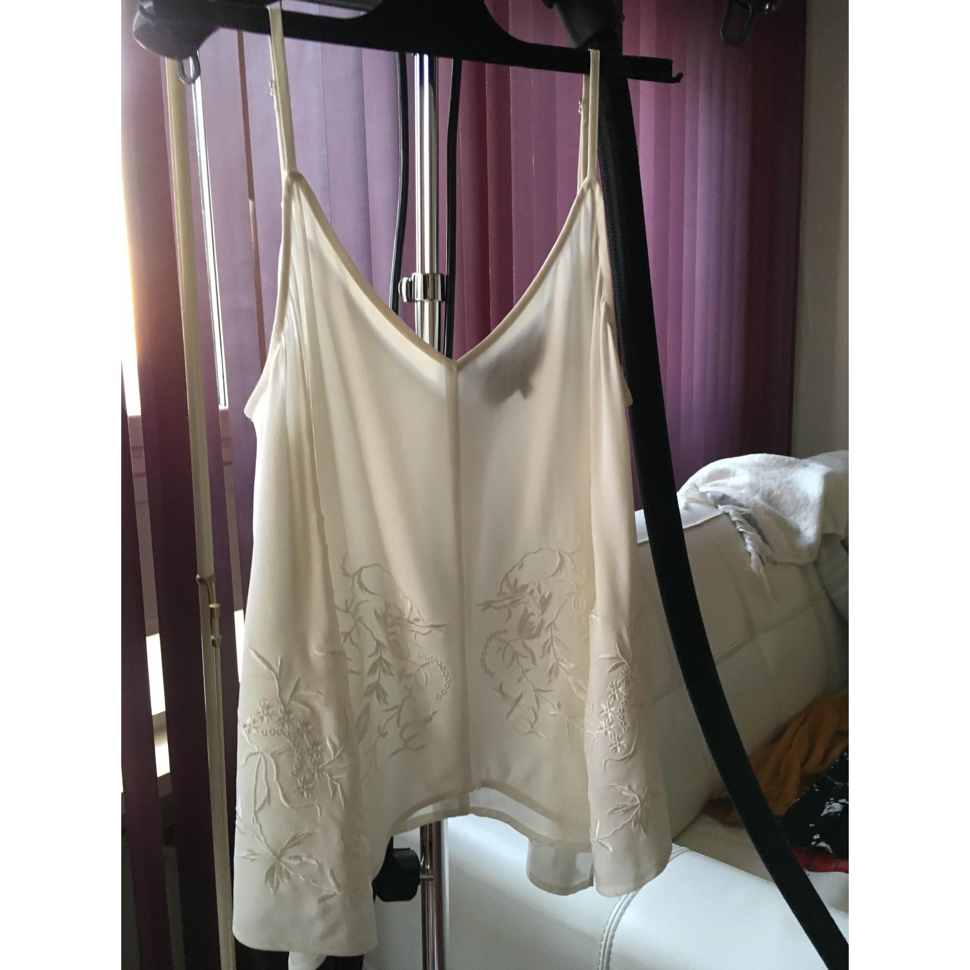 Top, tee-shirt LES PETITES LUXE Blanc, blanc cassé, écru