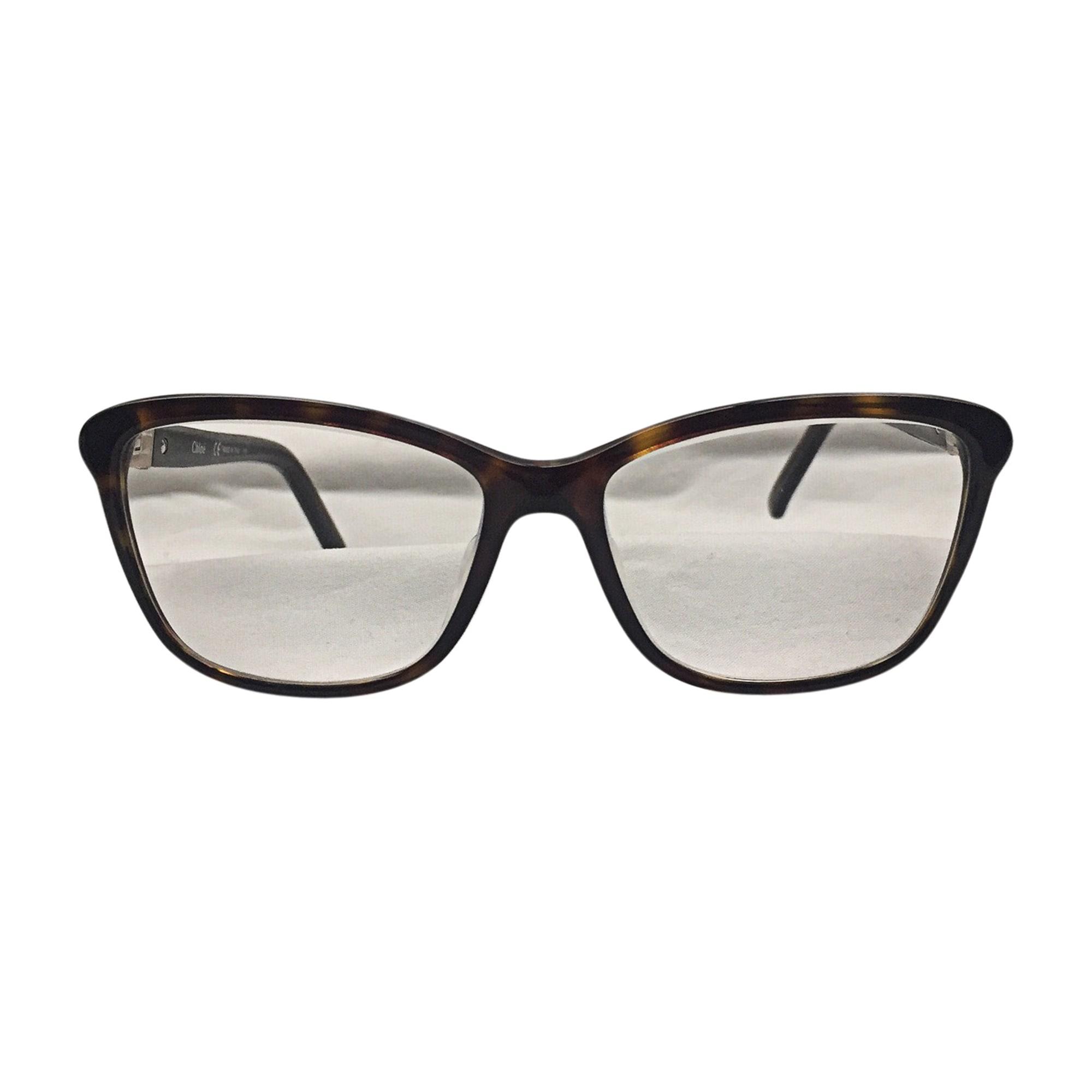 Eyeglass Frames CHLOÉ Brown