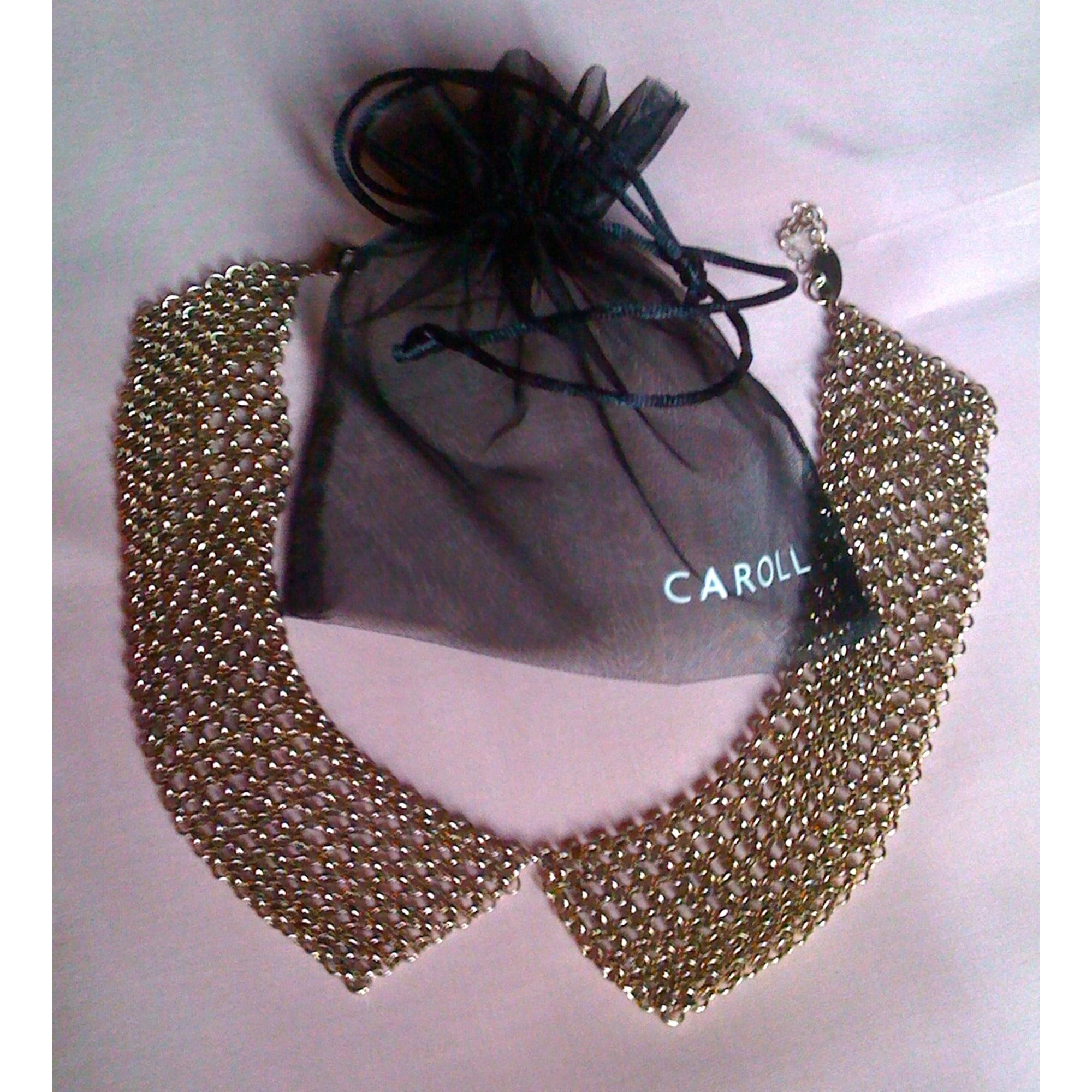 Collier CAROLL Doré, bronze, cuivre