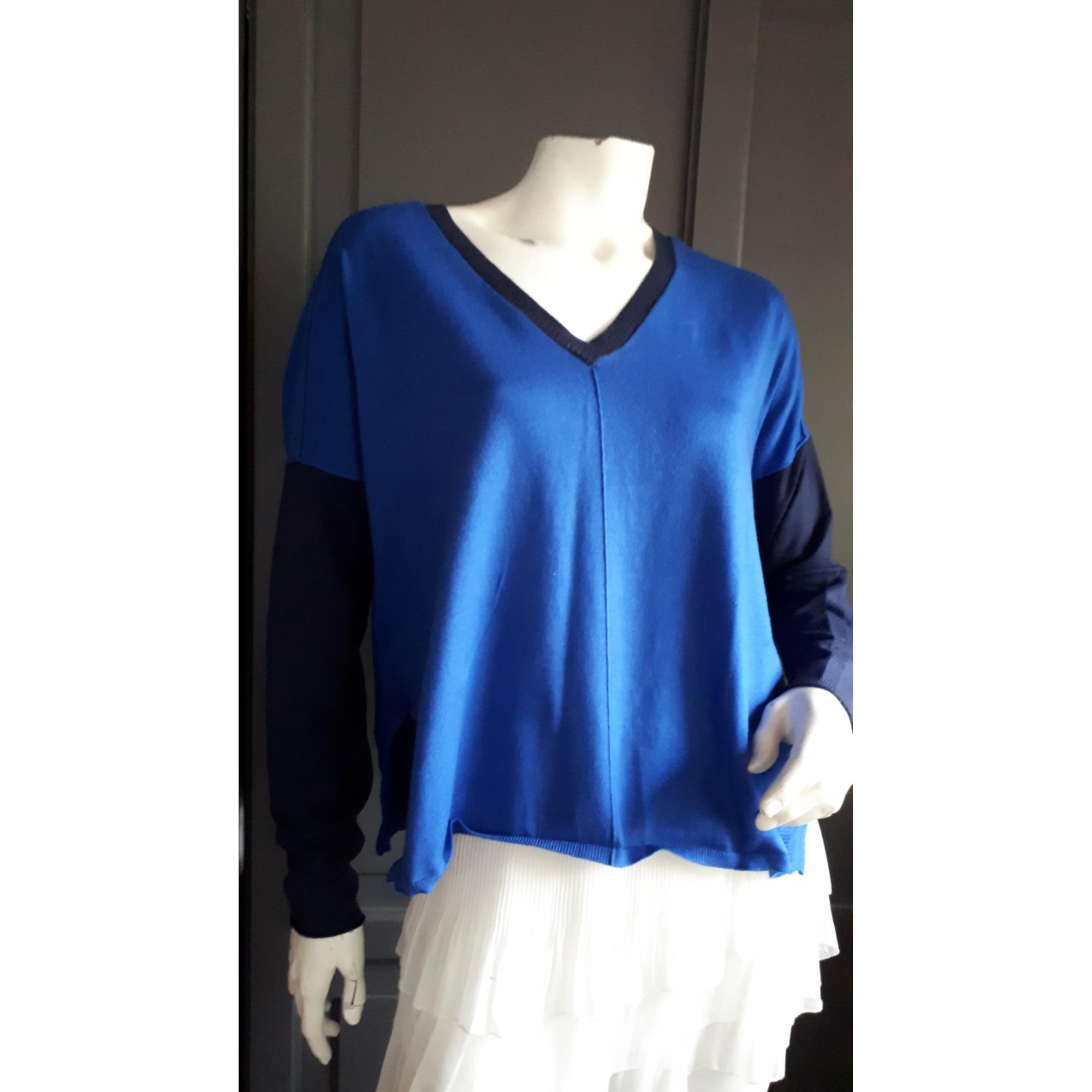Pull KAREN MILLEN Bleu, bleu marine, bleu turquoise