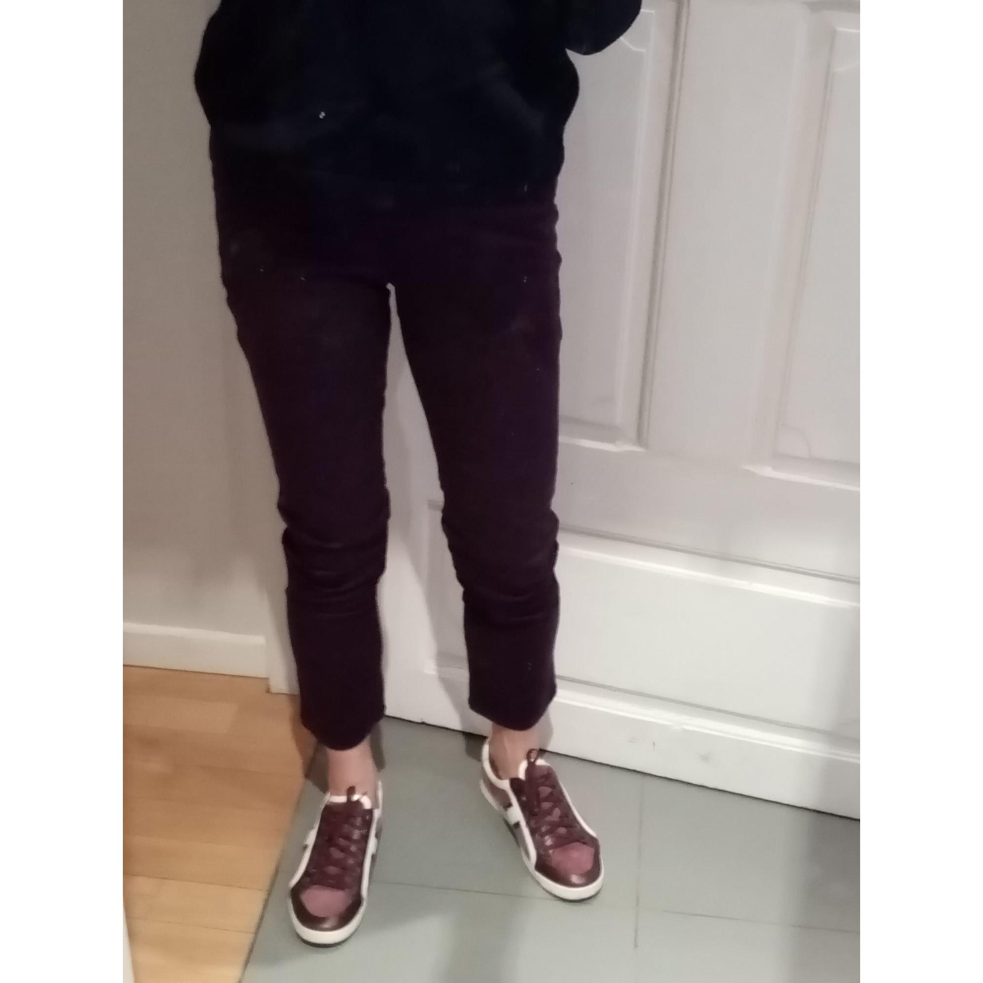 Pantalon slim, cigarette KENZO Vert