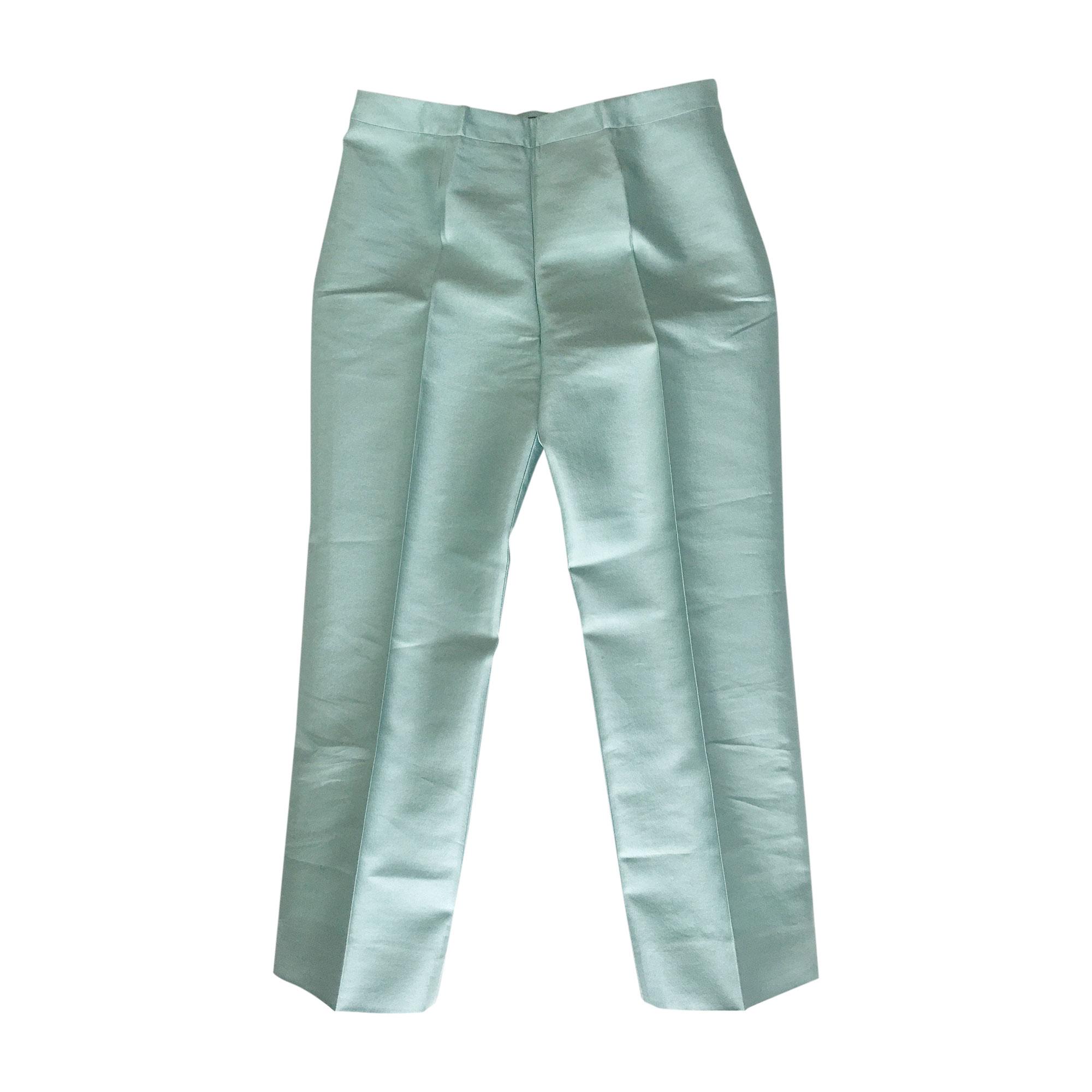Pantalon slim, cigarette PRADA Vert