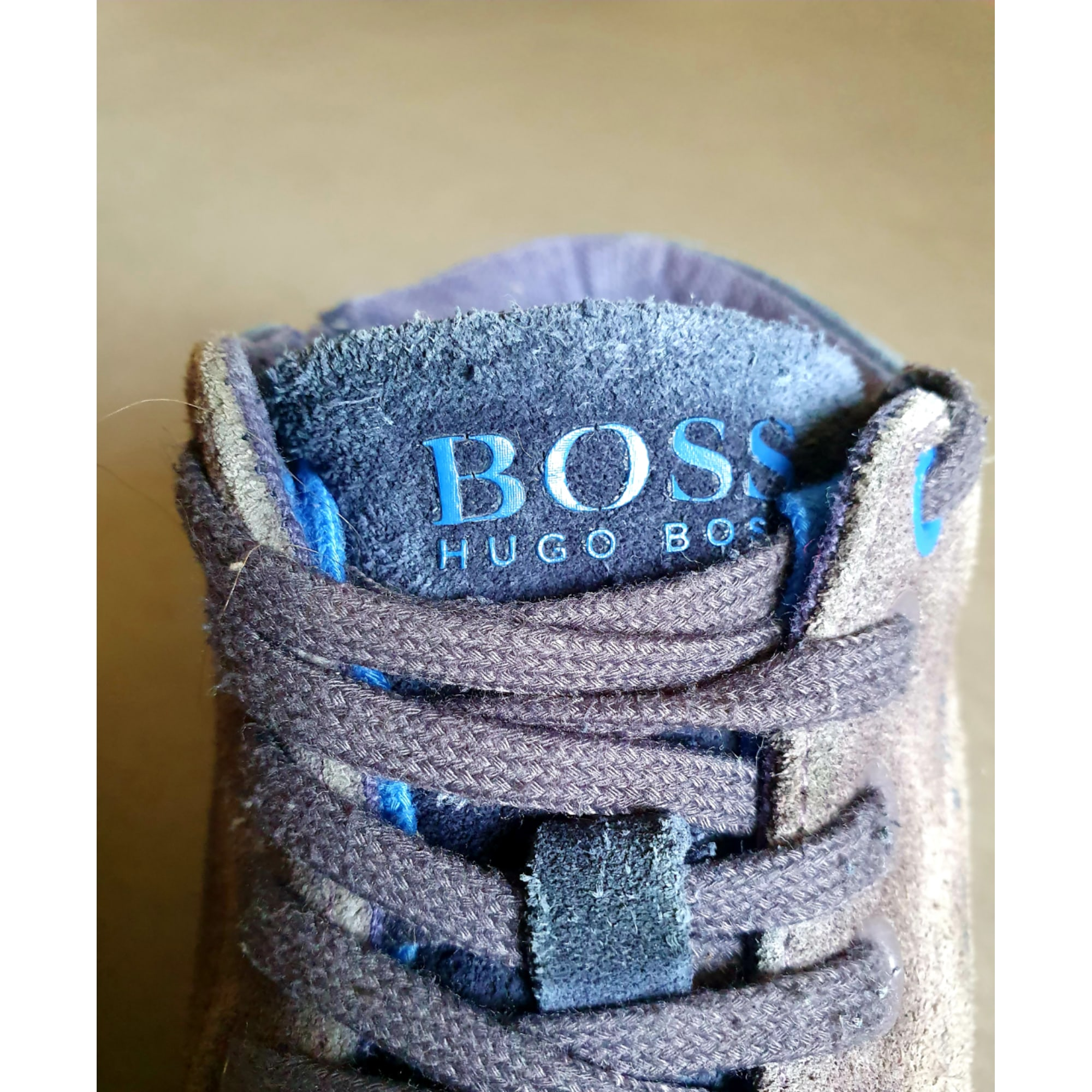 Ankle Boots HUGO BOSS Blue, navy, turquoise