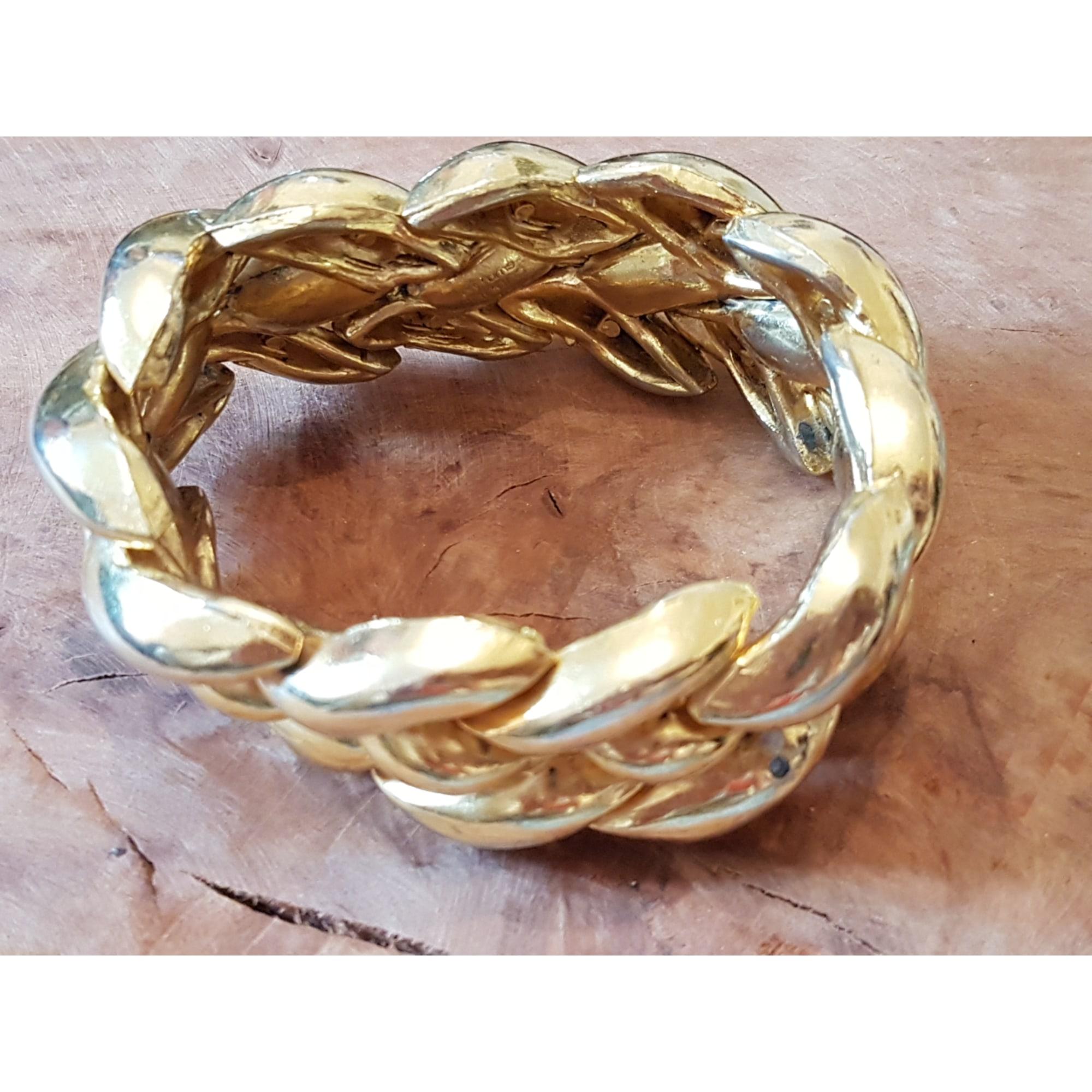 Bracelet UNGARO Doré, bronze, cuivre