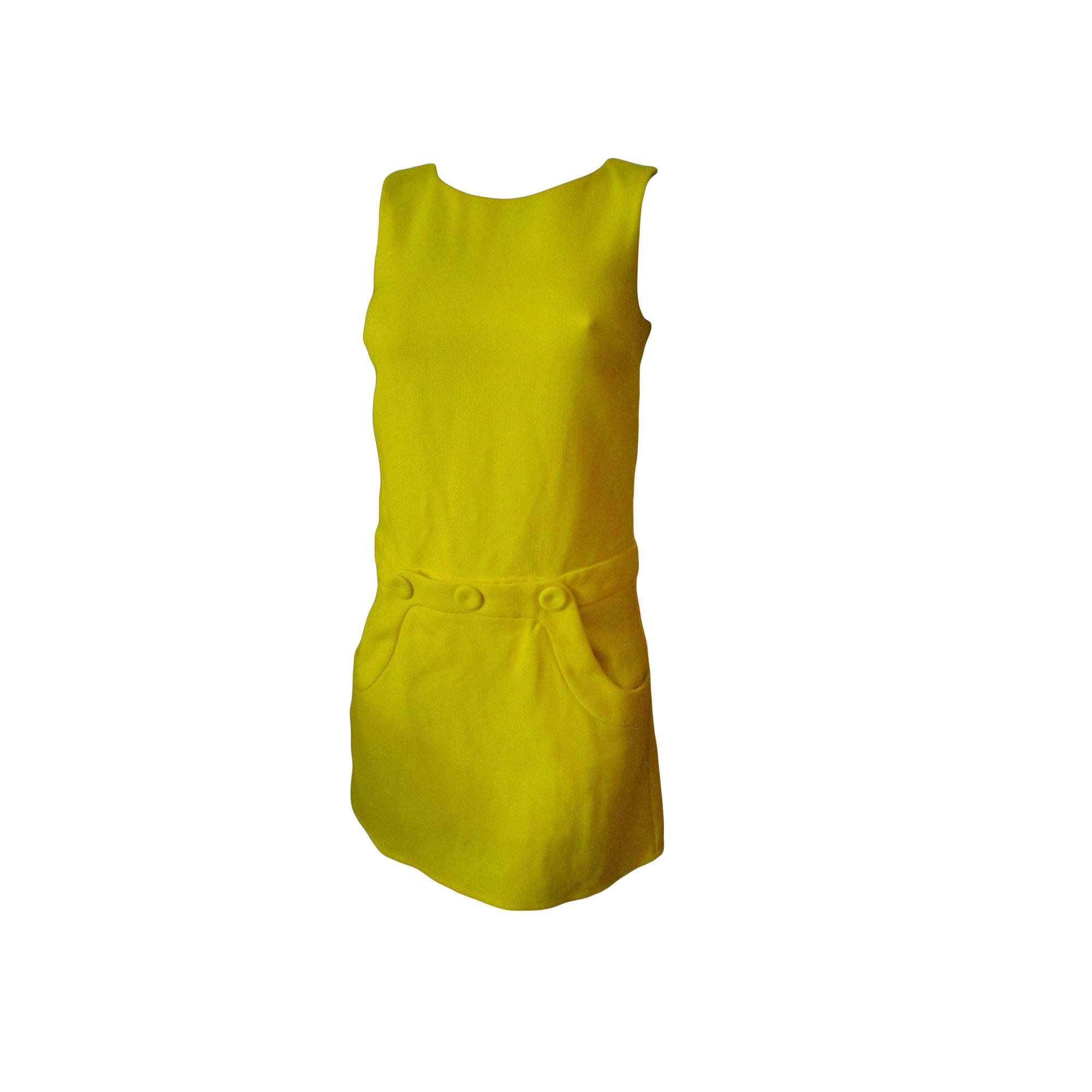 Robe courte TARA JARMON Jaune