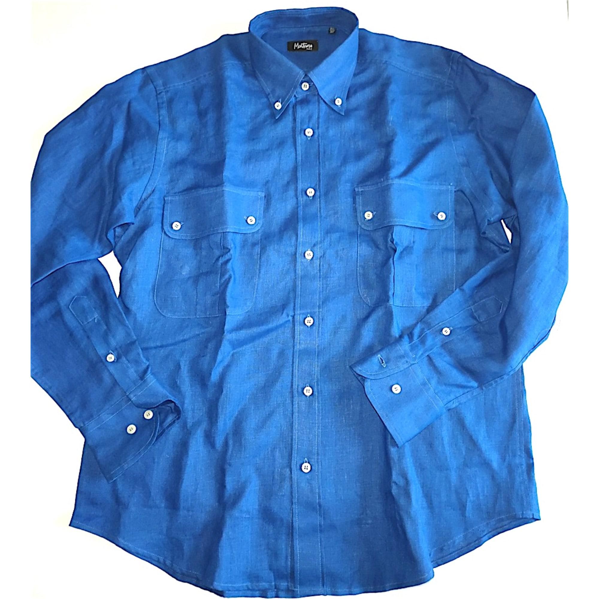 Chemise MONTANA Bleu, bleu marine, bleu turquoise