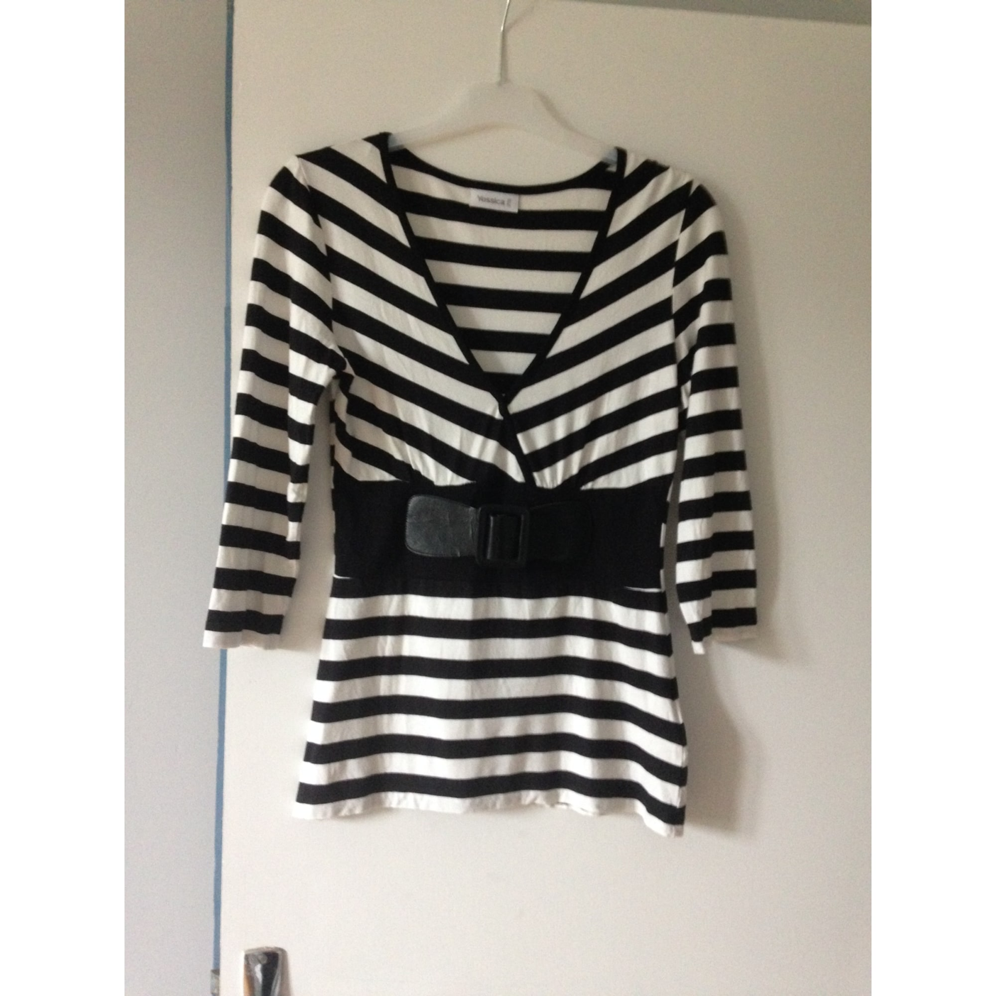 Top, tee-shirt YESSICA Noir