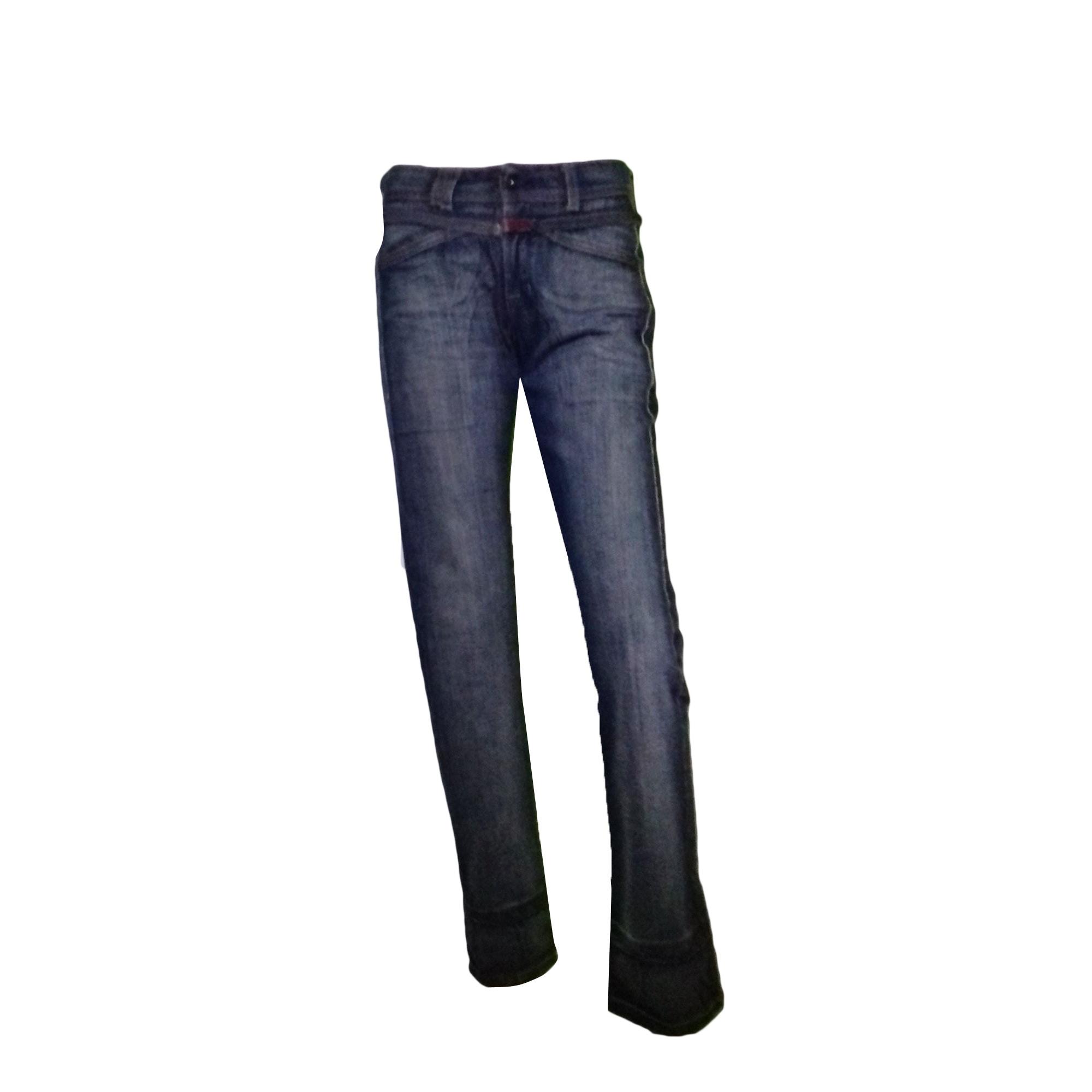 Jeans évasé, boot-cut MARITHÉ ET FRANÇOIS GIRBAUD bleu ciel délavé