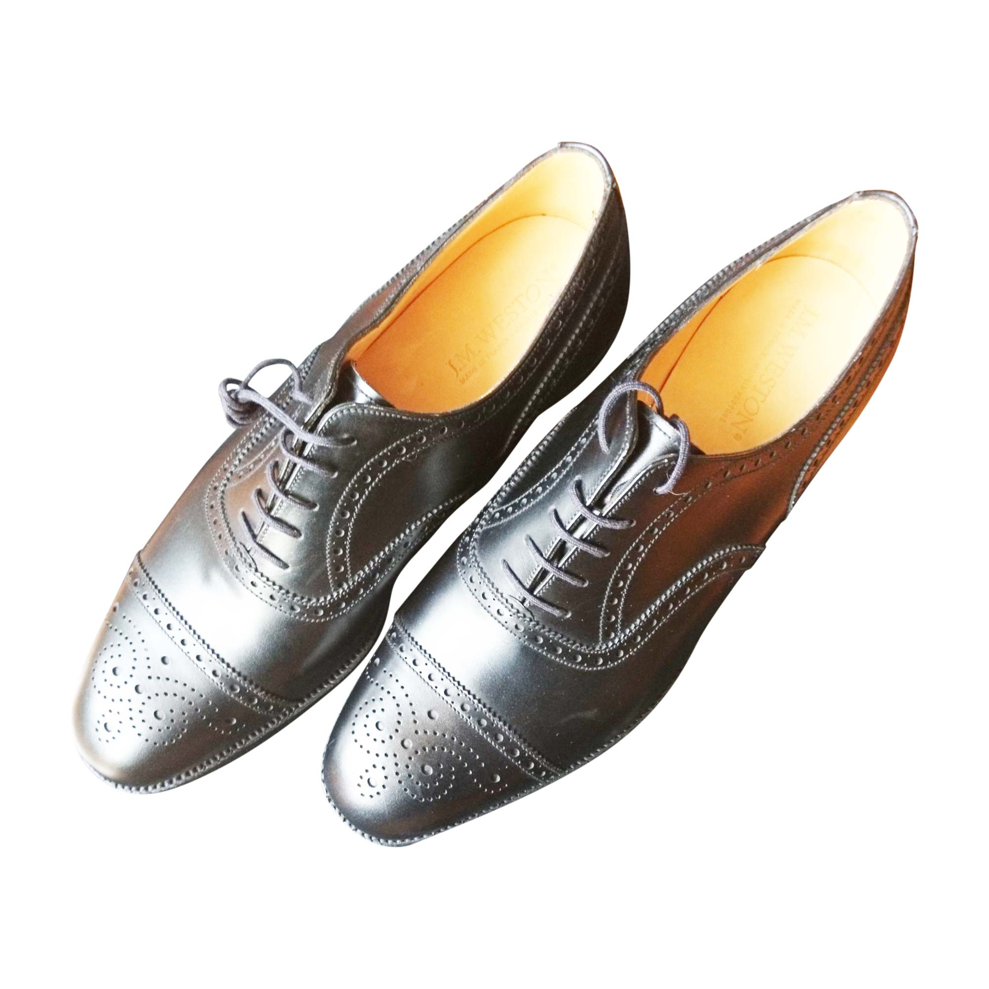 Chaussures à lacets JM WESTON Noir