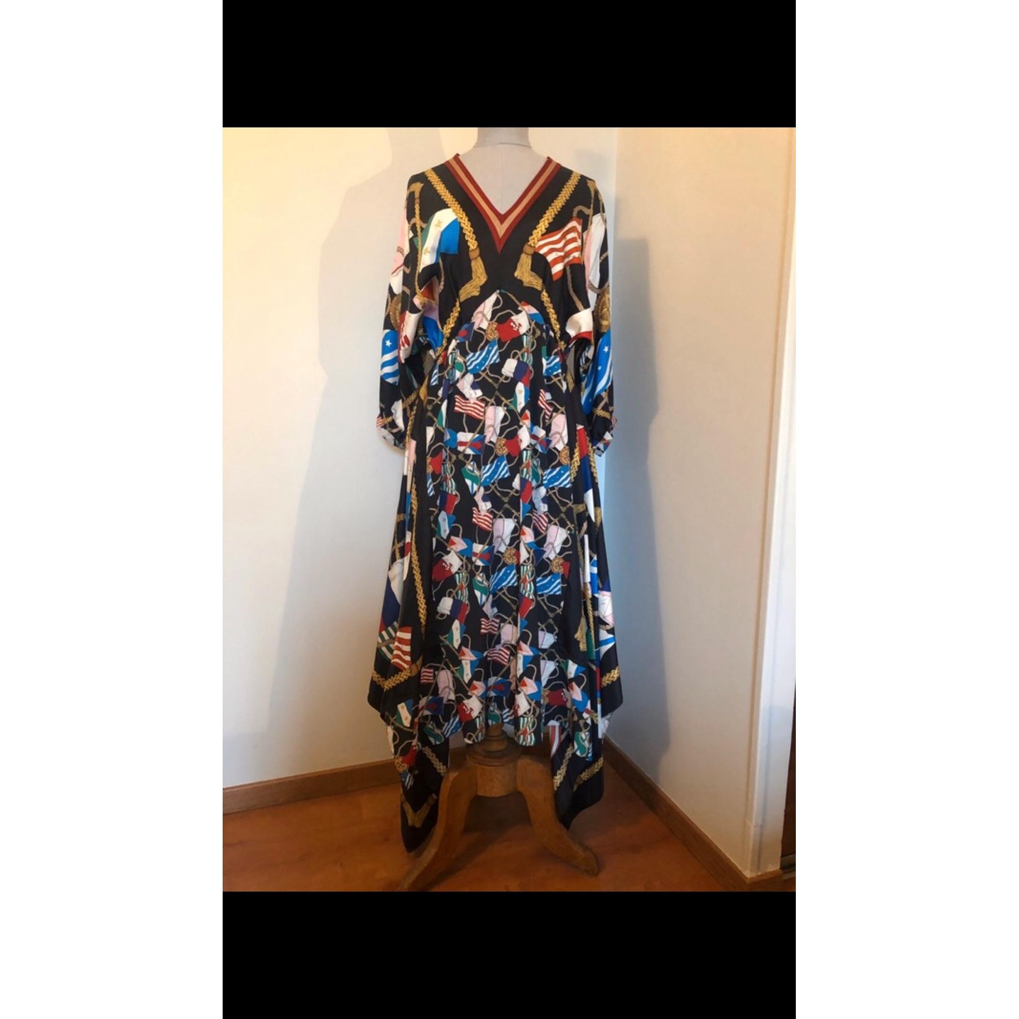 Robe mi-longue SANDRO Multicouleur
