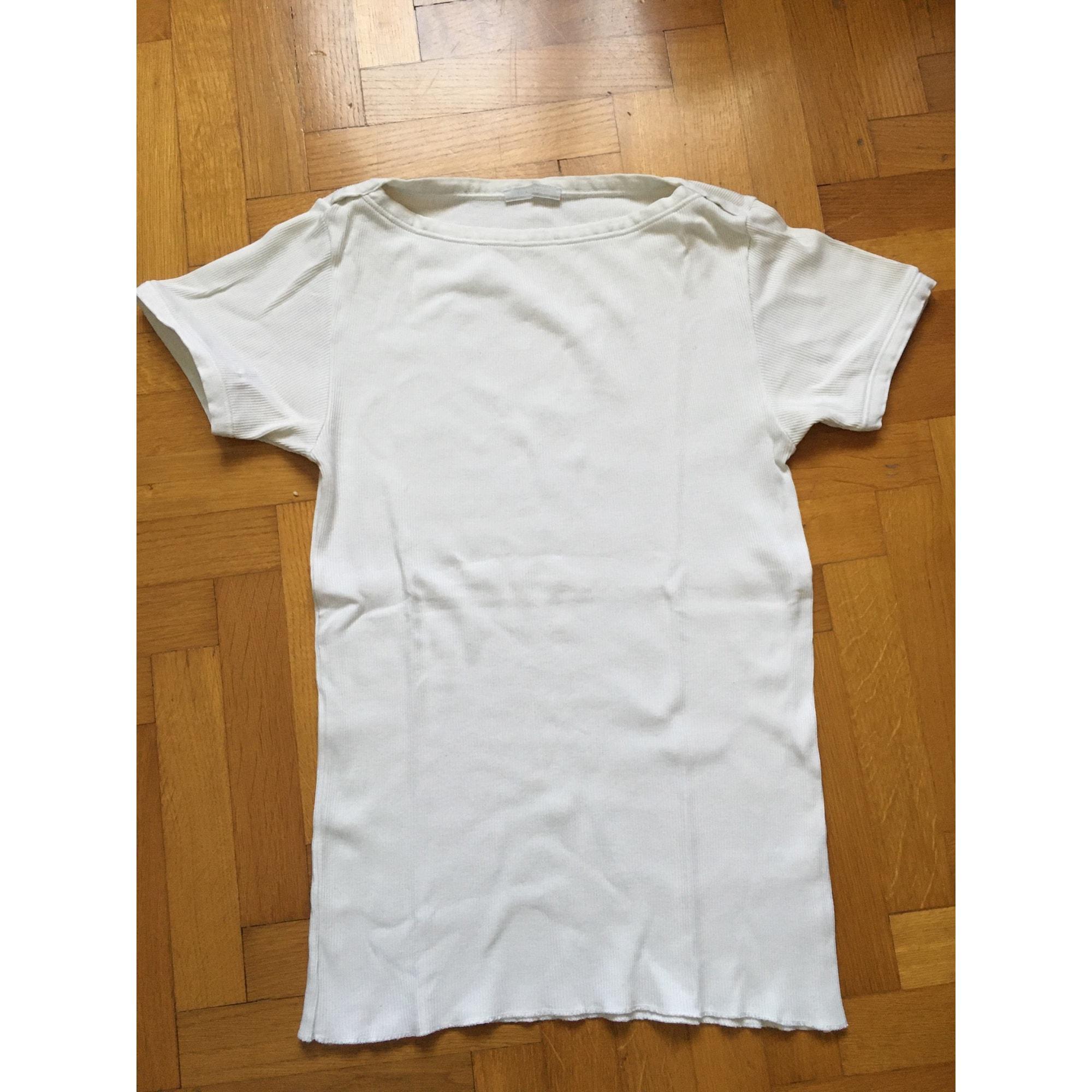 Tee-shirt PRADA Blanc, blanc cassé, écru