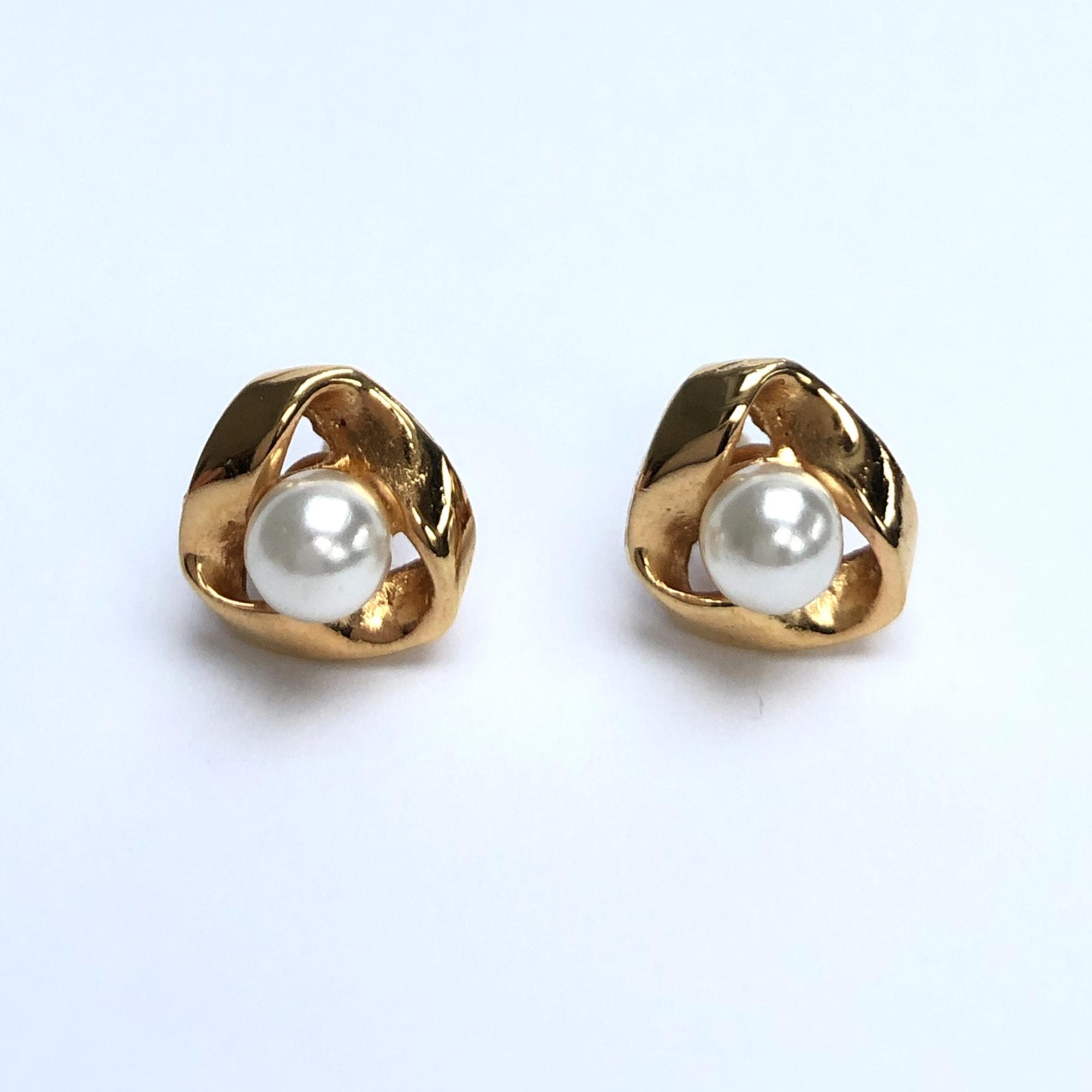 Boucles d'oreille MARQUE INCONNUE Doré, bronze, cuivre