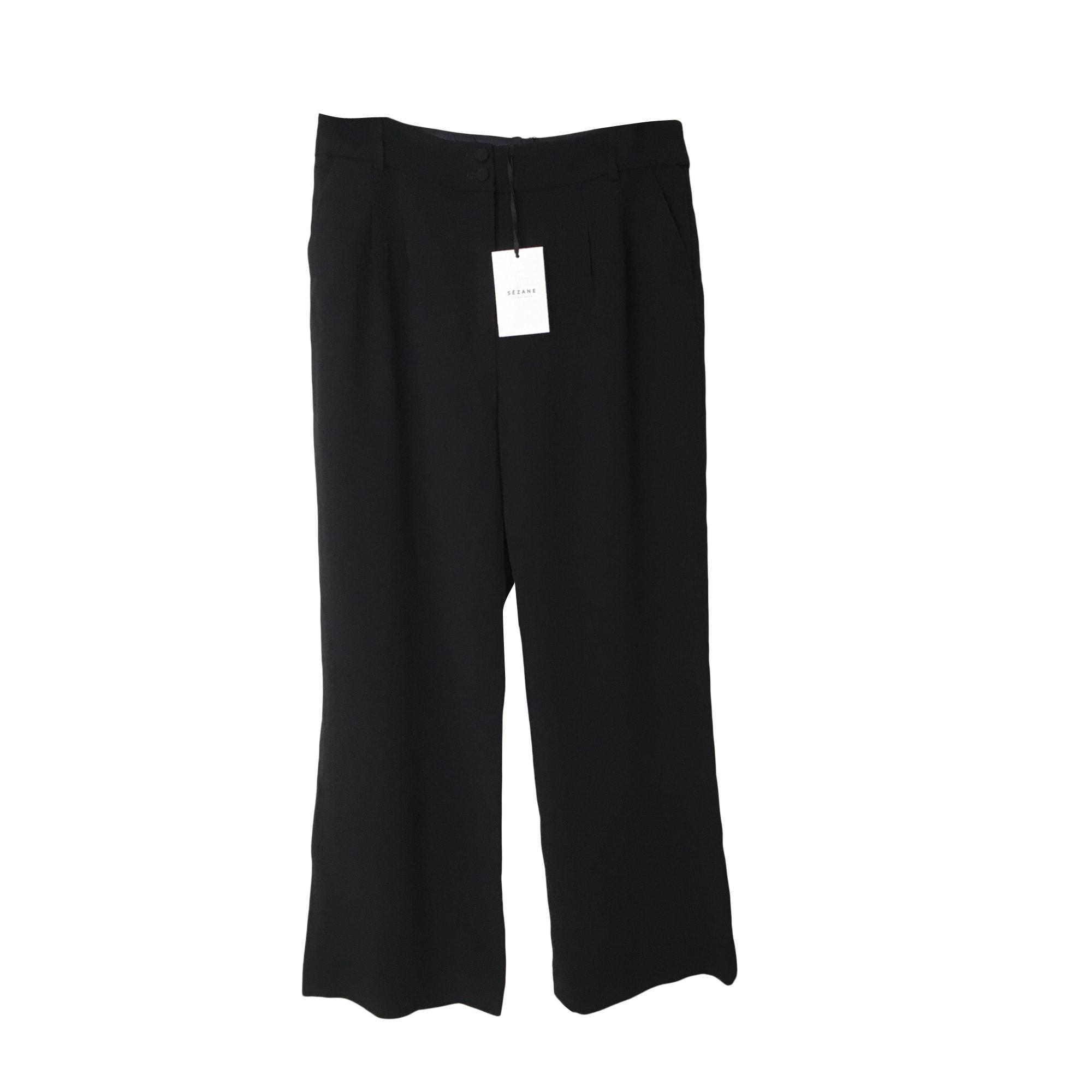 Pantalon large SÉZANE Noir