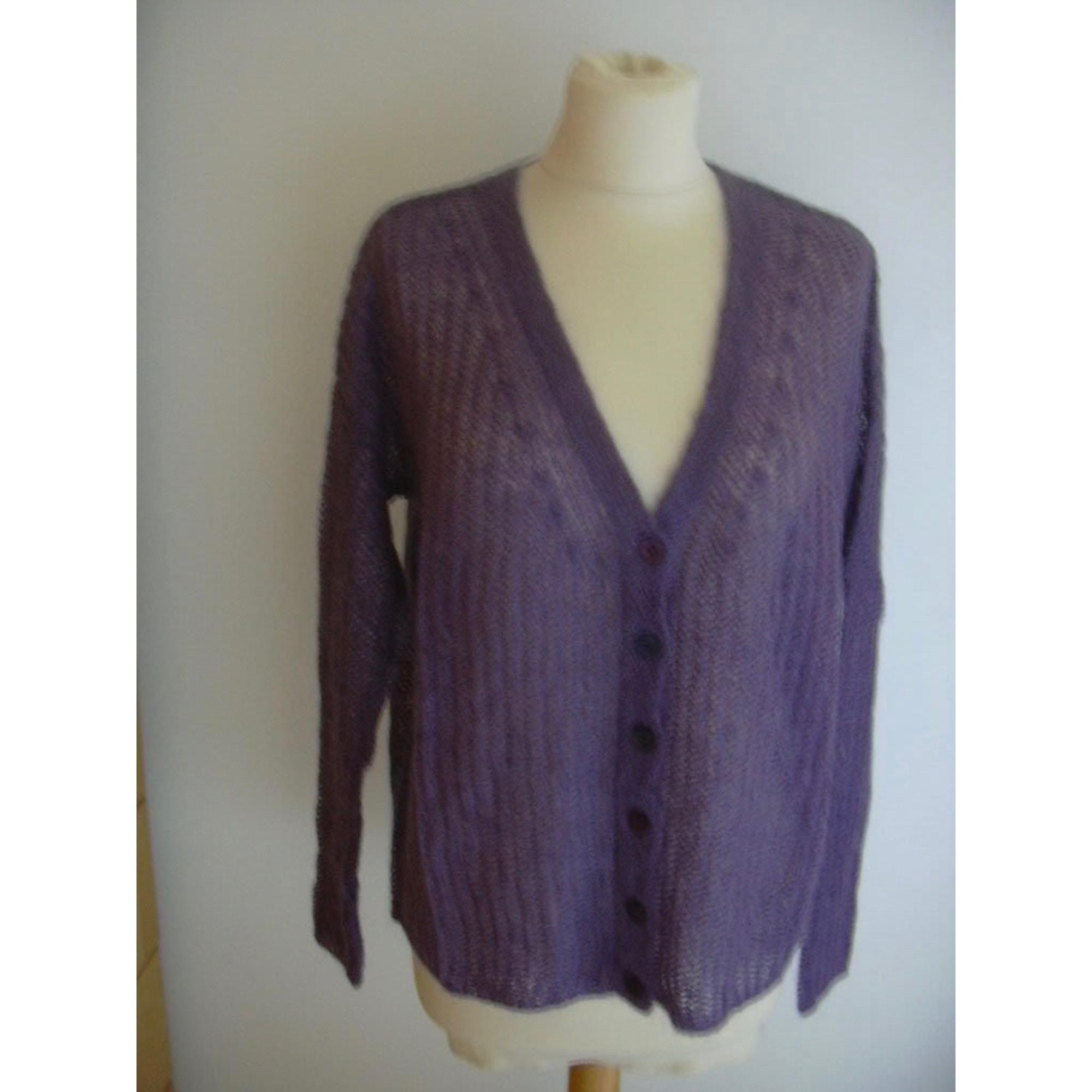 Gilet, cardigan UNITED COLORS OF BENETTON Violet, mauve, lavande