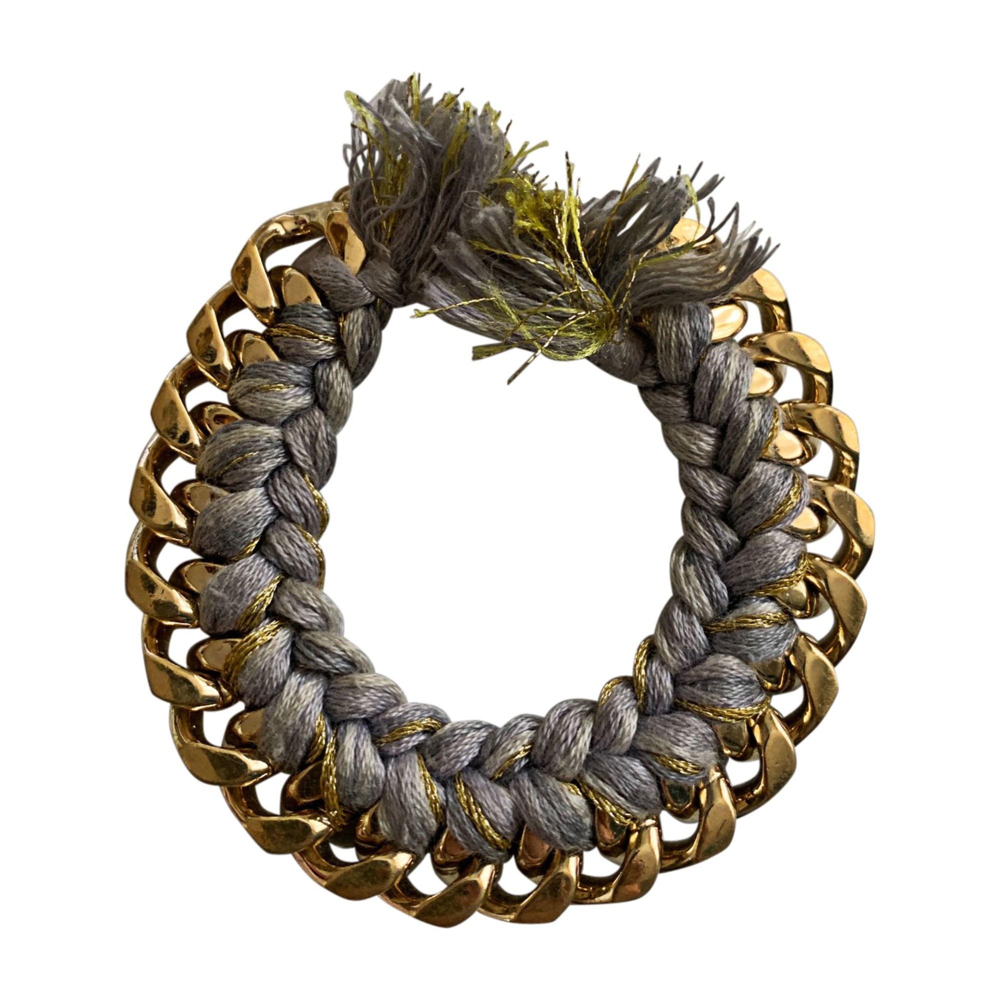 Bracelet AURELIE BIDERMANN Gris, anthracite
