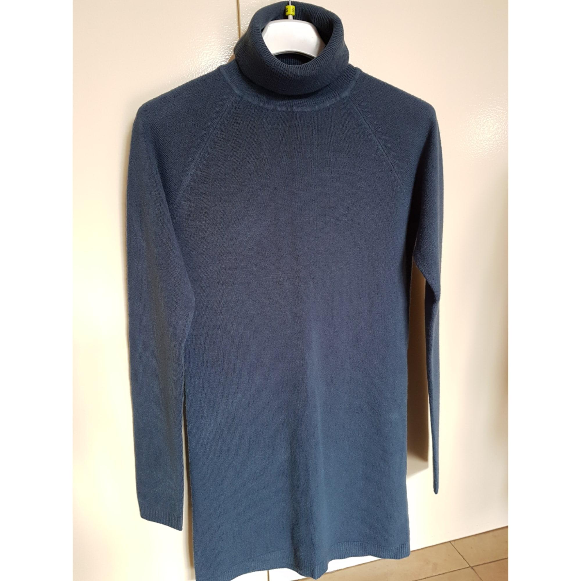 Pull tunique TEX WOMAN Bleu, bleu marine, bleu turquoise