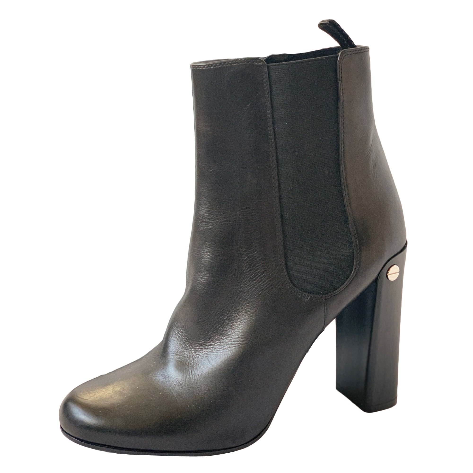 Bottines & low boots à talons NEIL BARRETT Noir