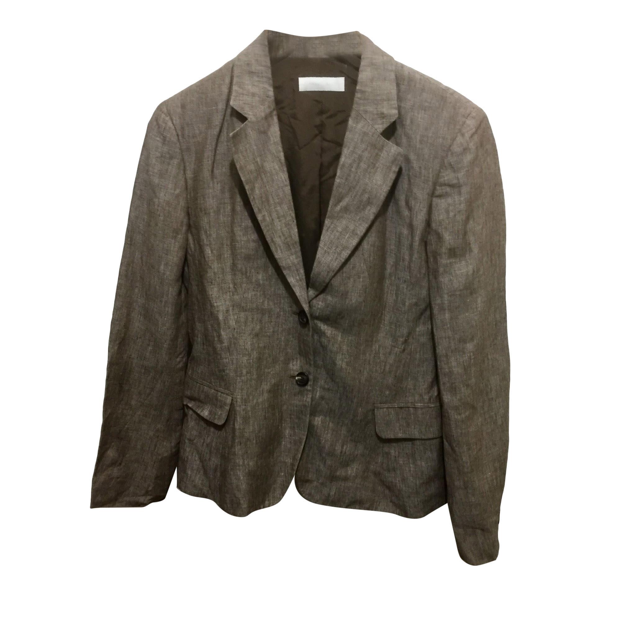 Blazer, veste tailleur NICOLE FAHRI Marron