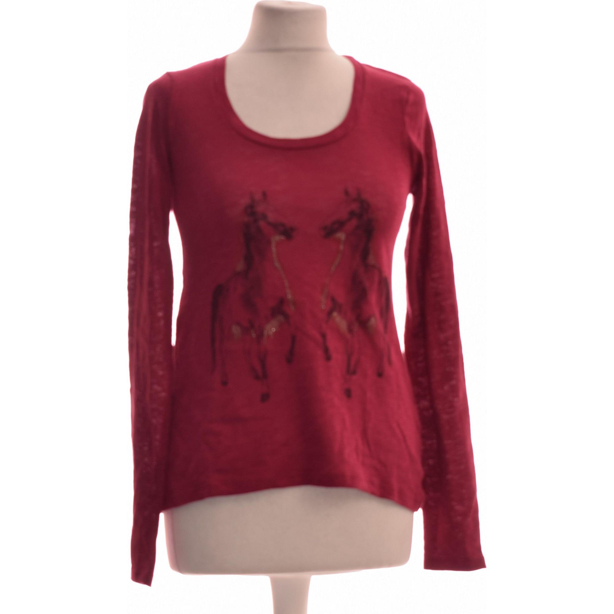Top, tee-shirt SUD EXPRESS Rouge, bordeaux