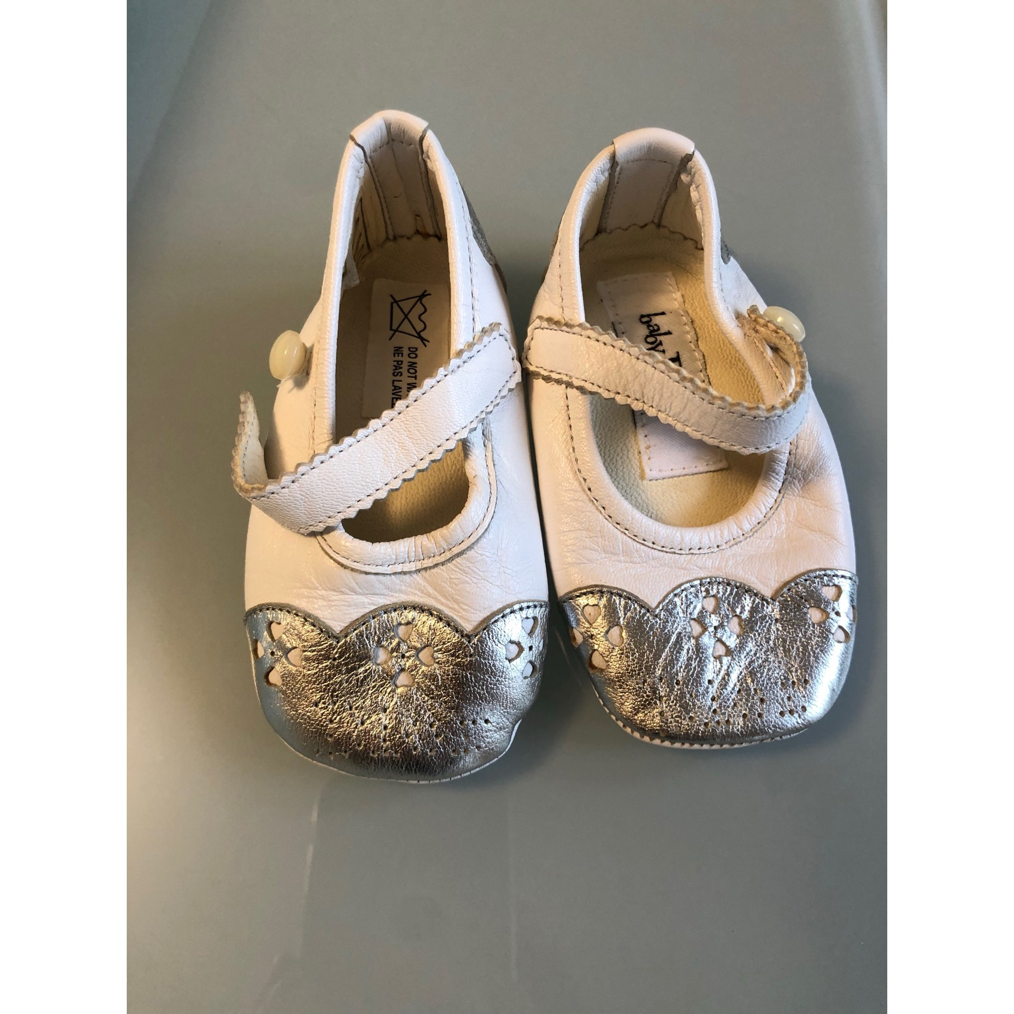 Ballet Flats BABY DIOR White, off-white, ecru