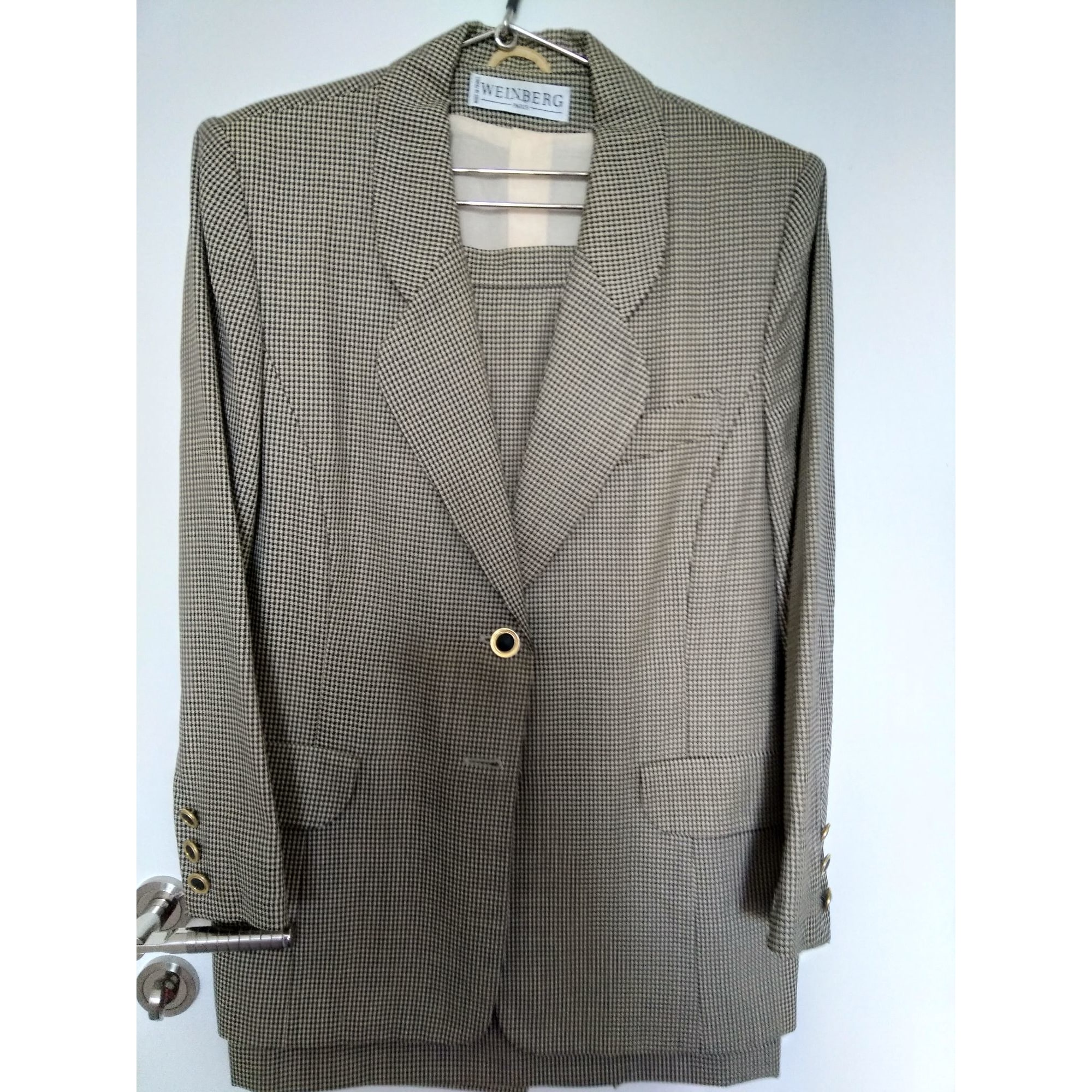Tailleur jupe WEINBERG Gris, anthracite