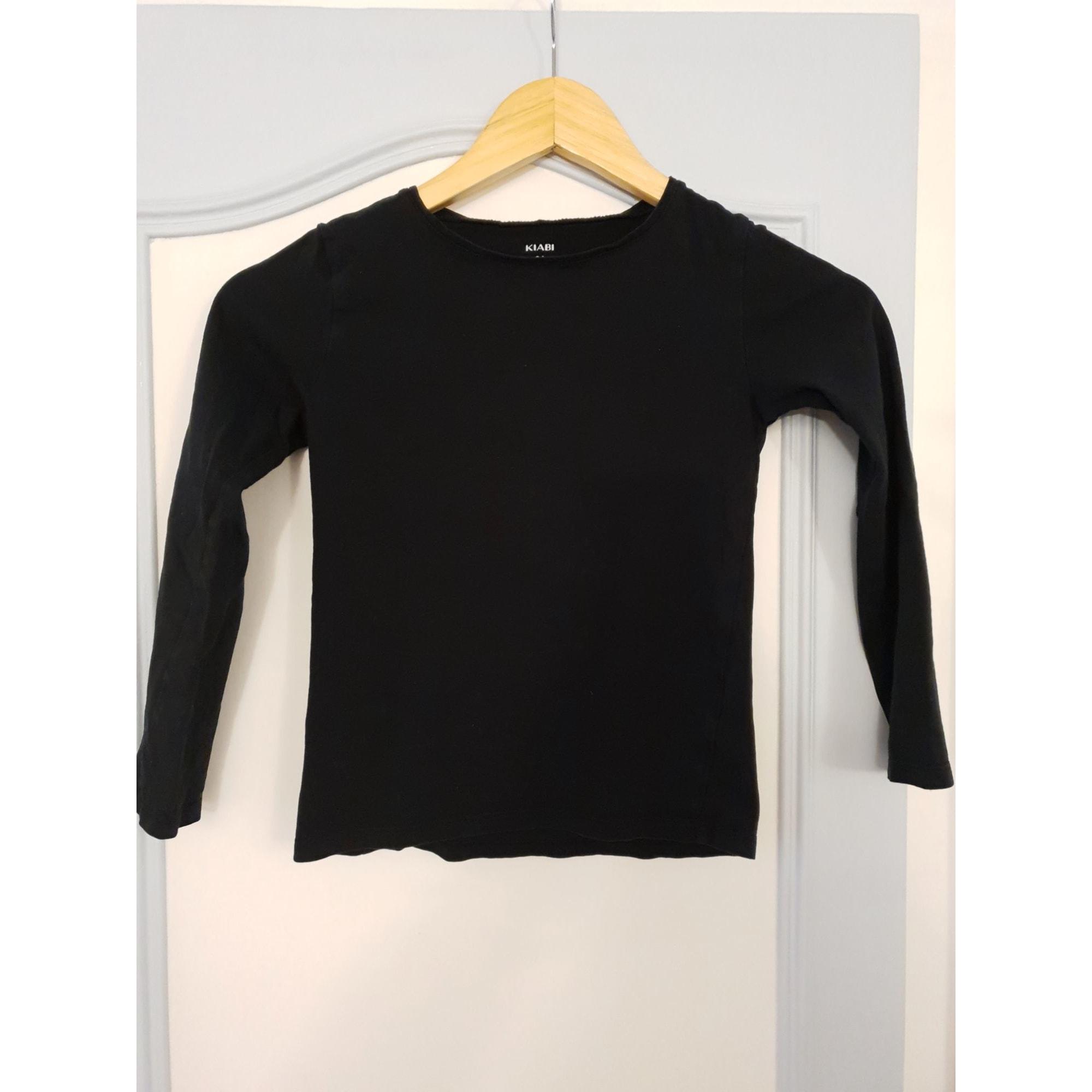 Top, Tee-shirt KIABI Noir